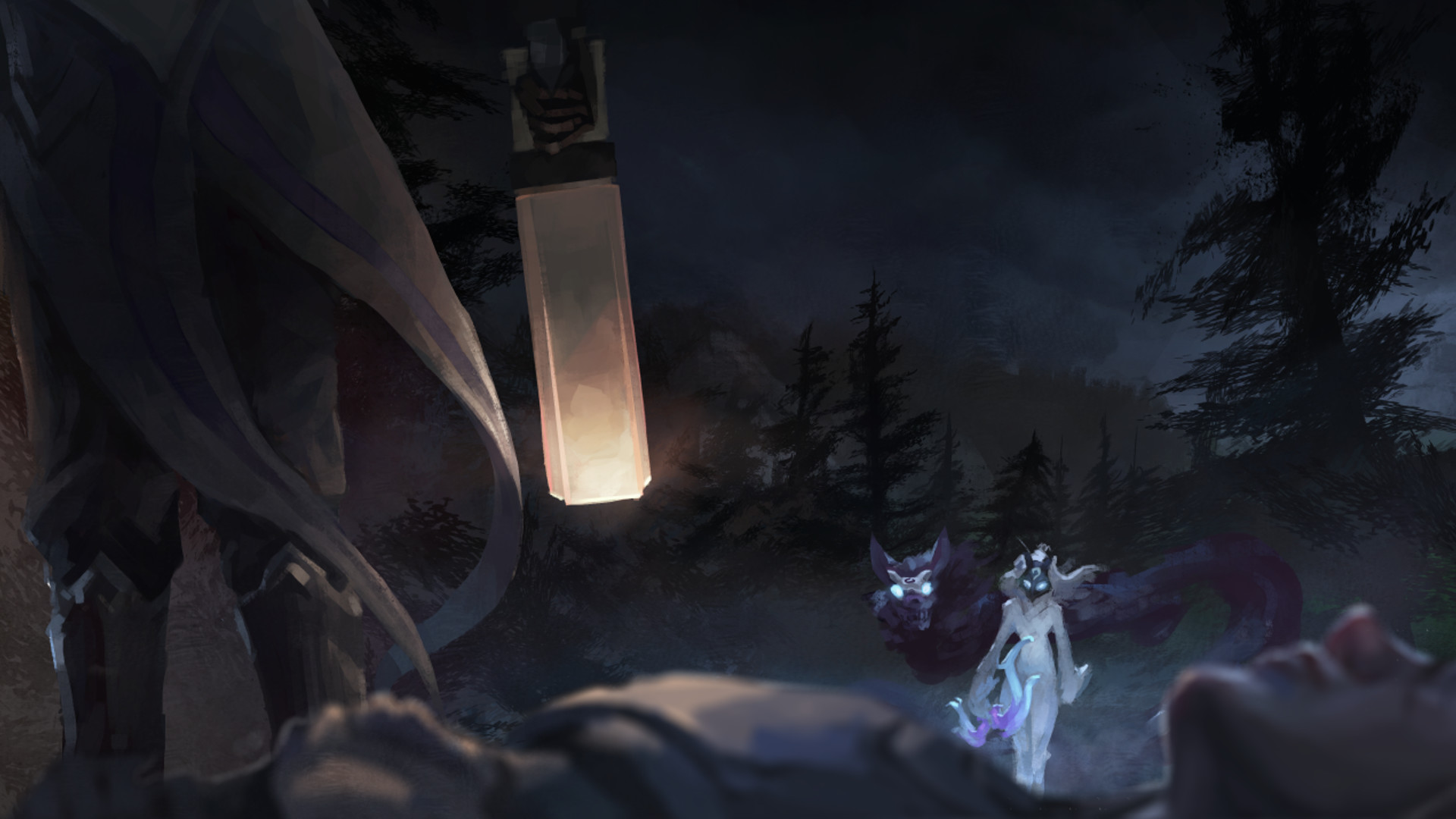 League Of Legends, Kindred, Kindred (League Of Legends), Lamb, Wolf
