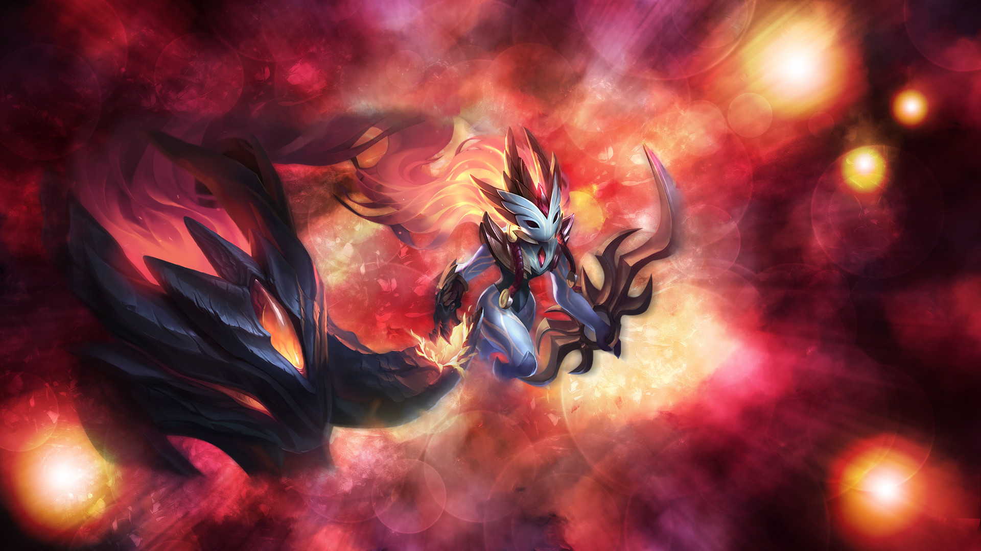 Shadowfire Kindred wallpaper