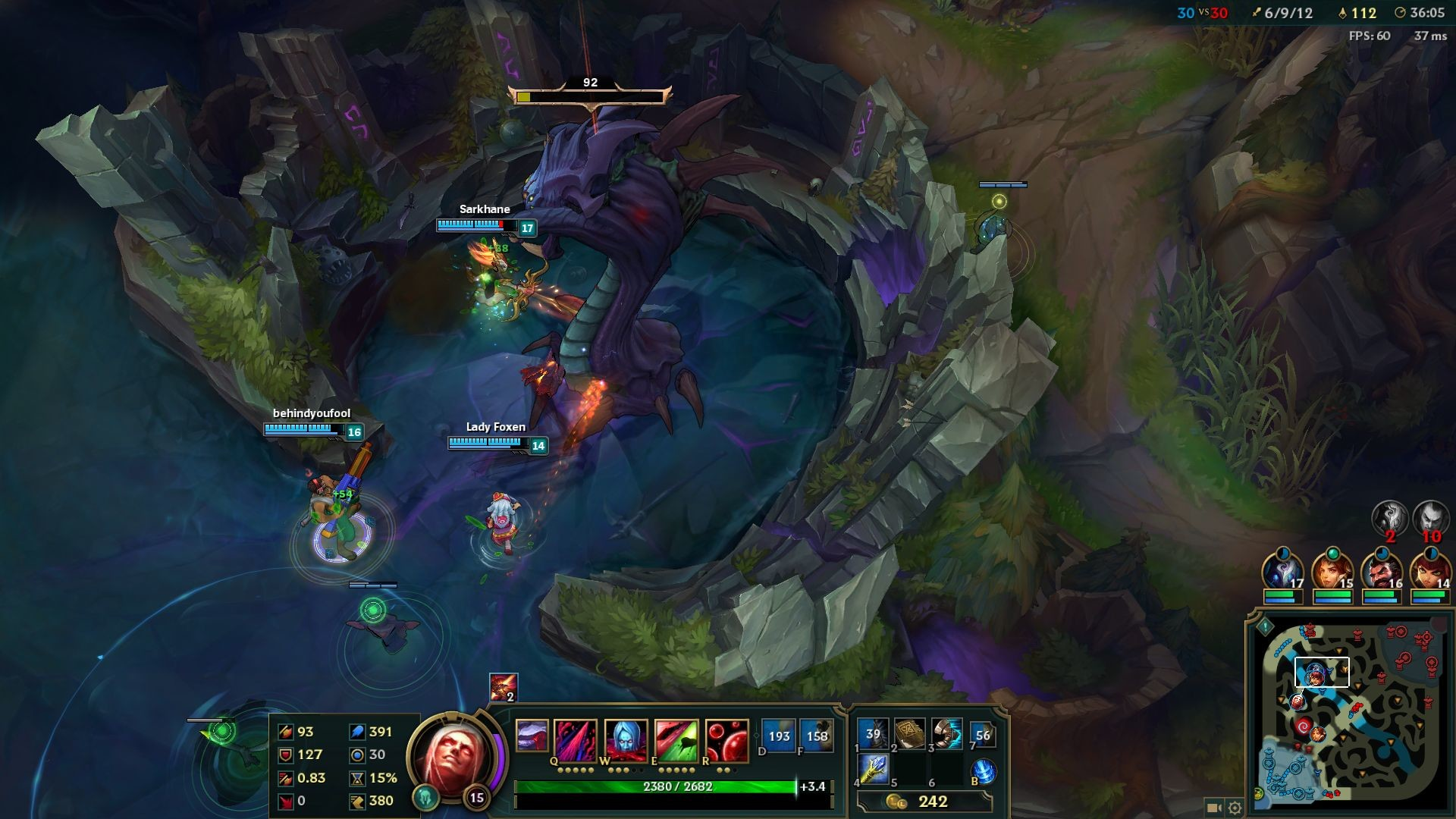Kindred will make your foes fear Baron fights.