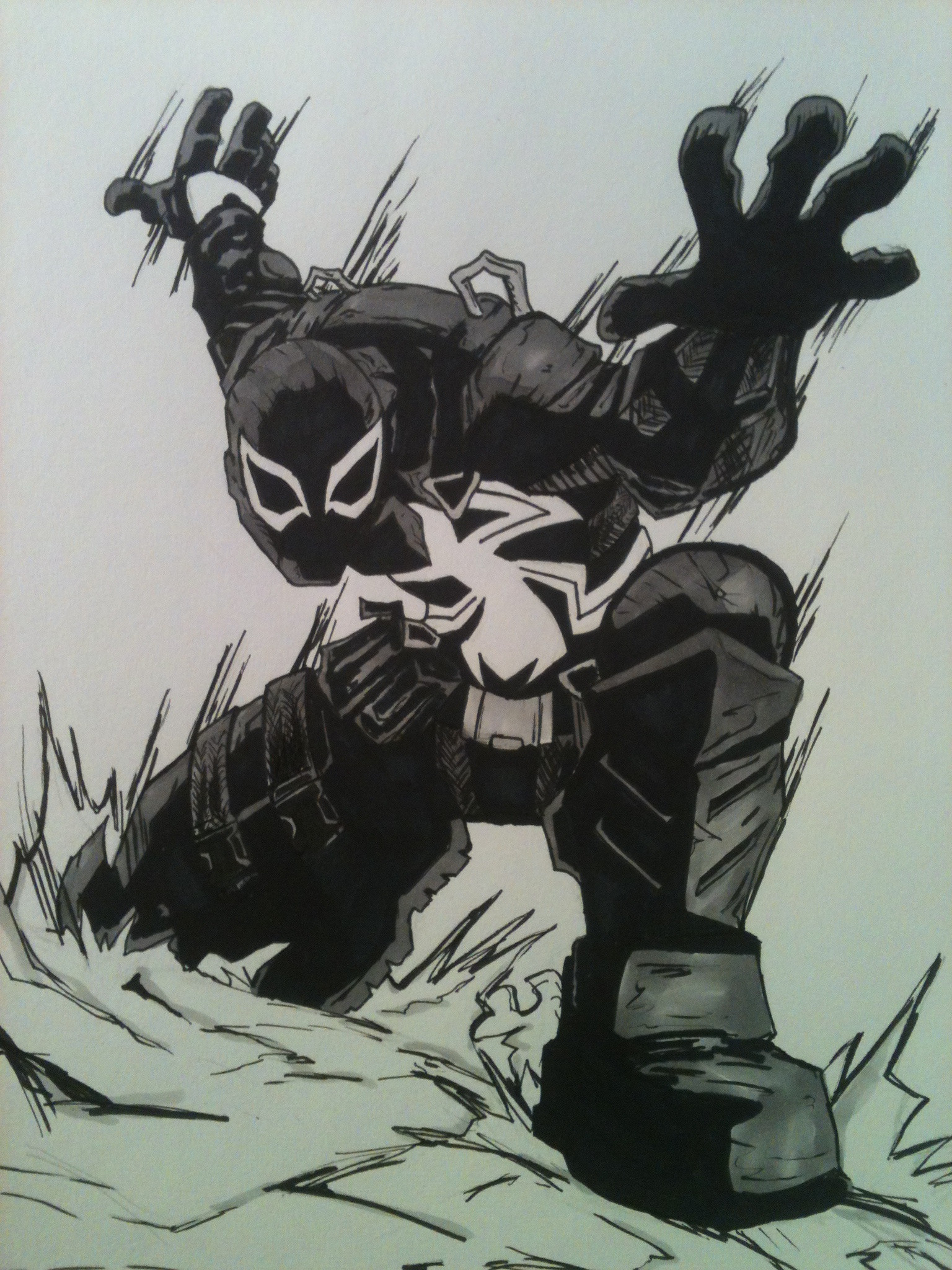 Agent Venom by LeeChandler Agent Venom by LeeChandler