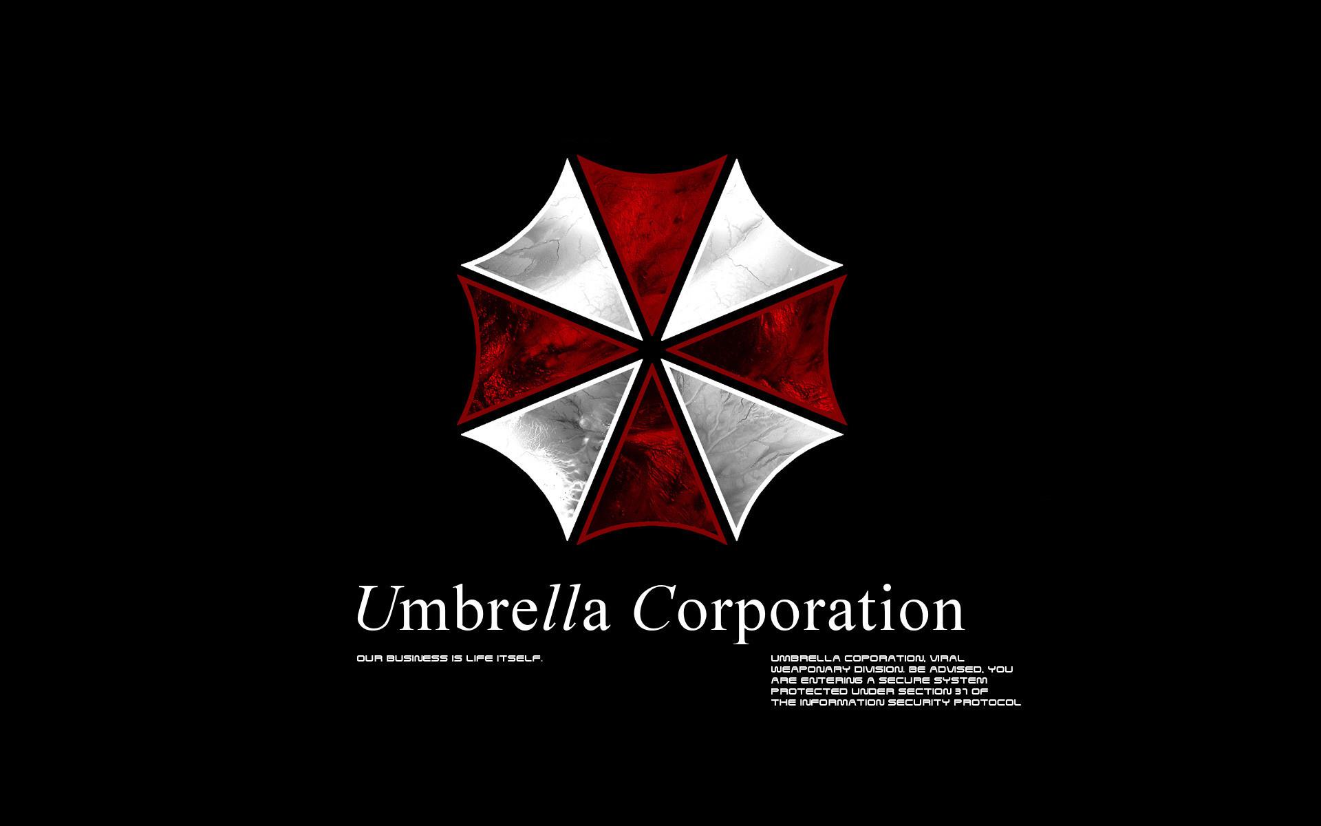 Umbrella Corp. desktop PC and Mac wallpaper