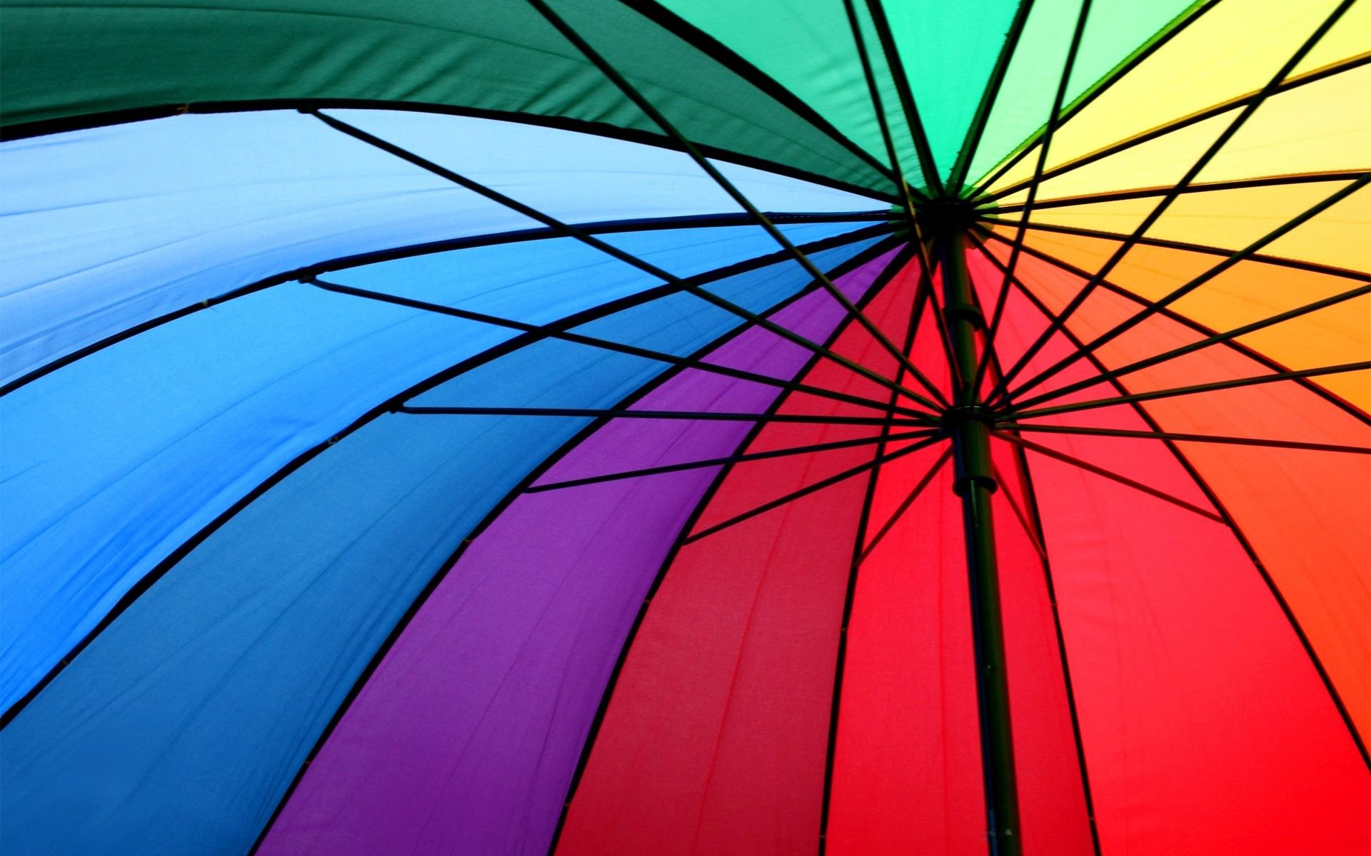 Colorful Umbrella Wallpaper HD 8254