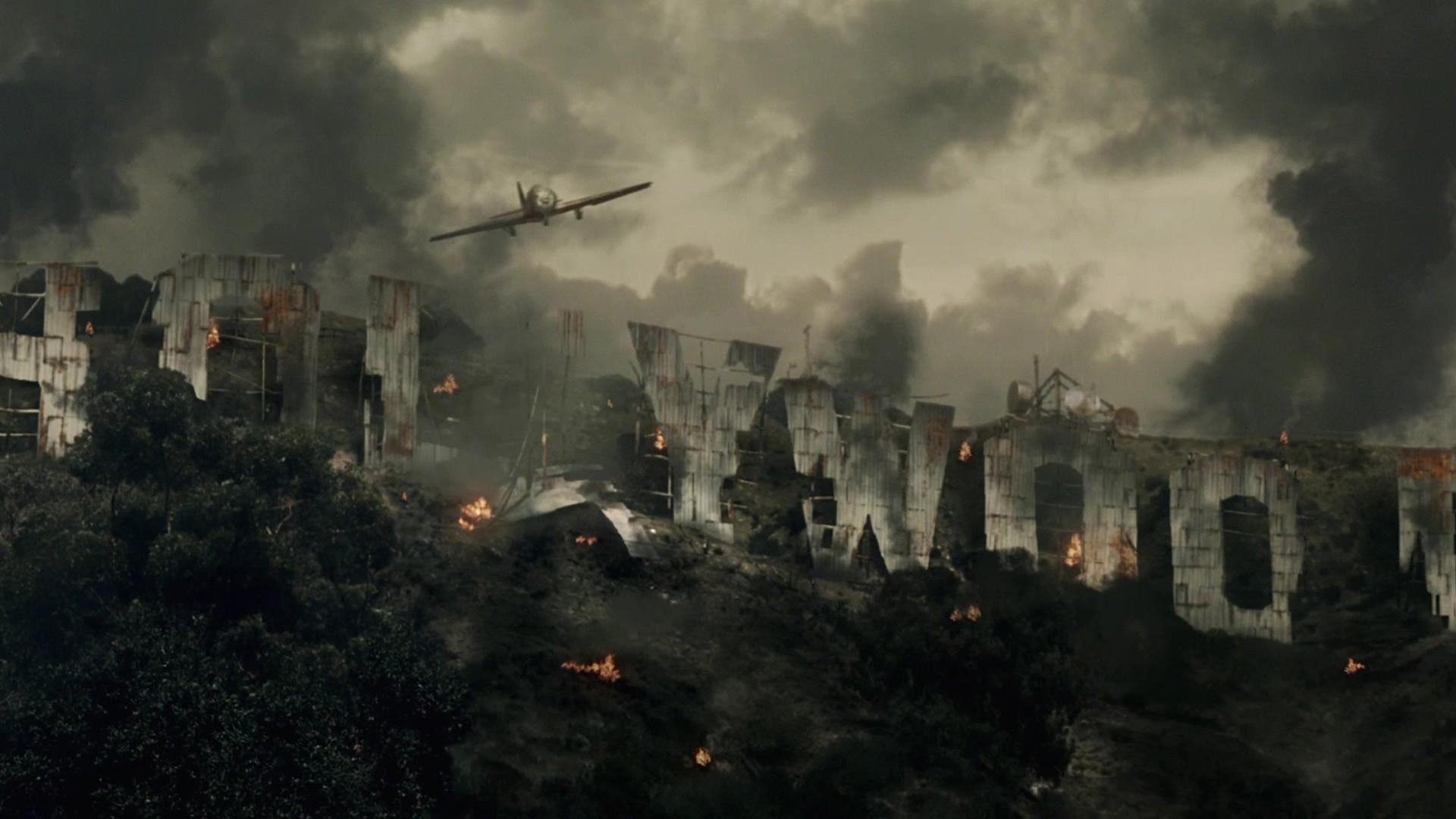 resident evil extinction, flying, sky
