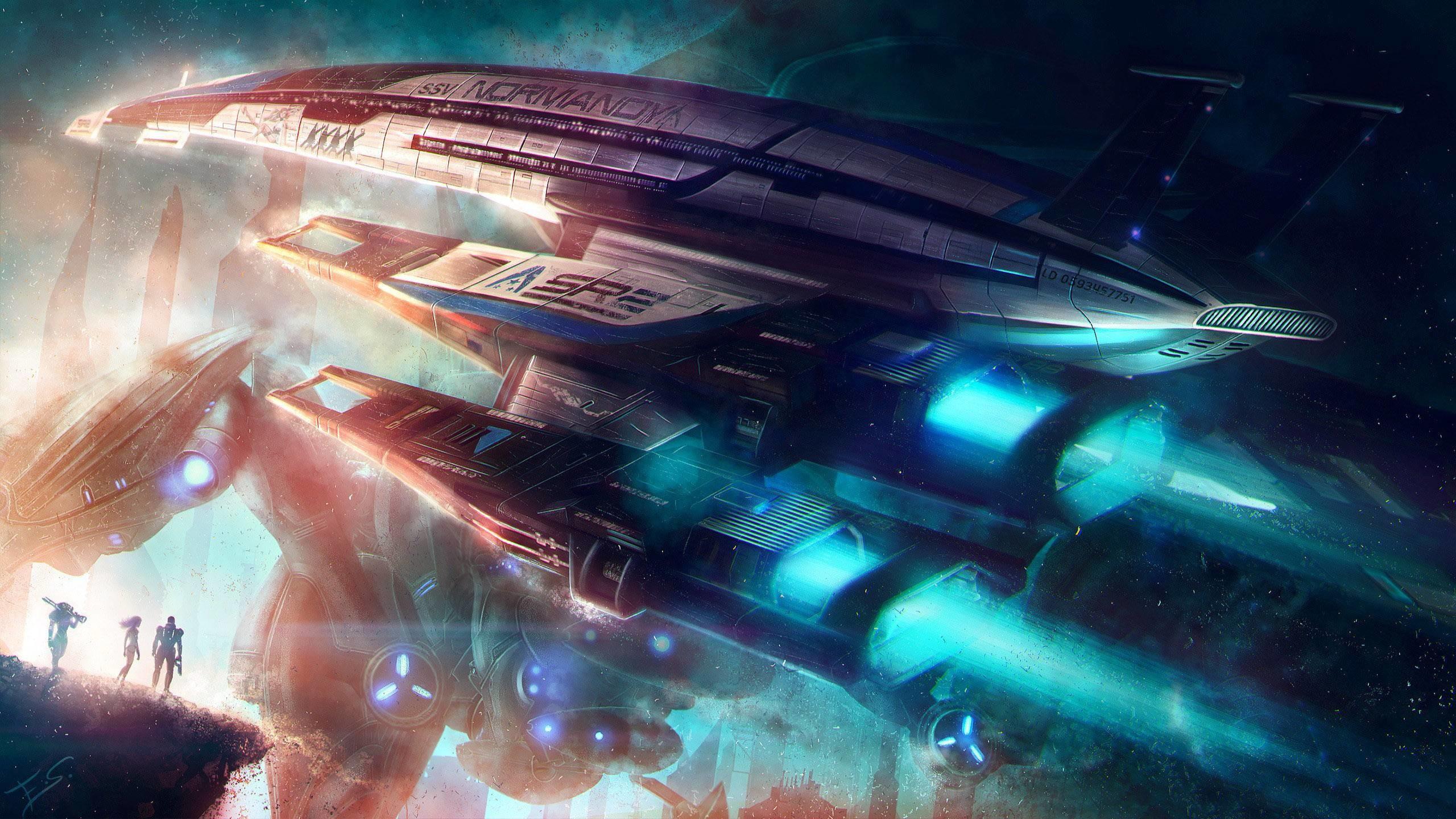 Normandy SR-2 – Mass Effect Wallpaper #