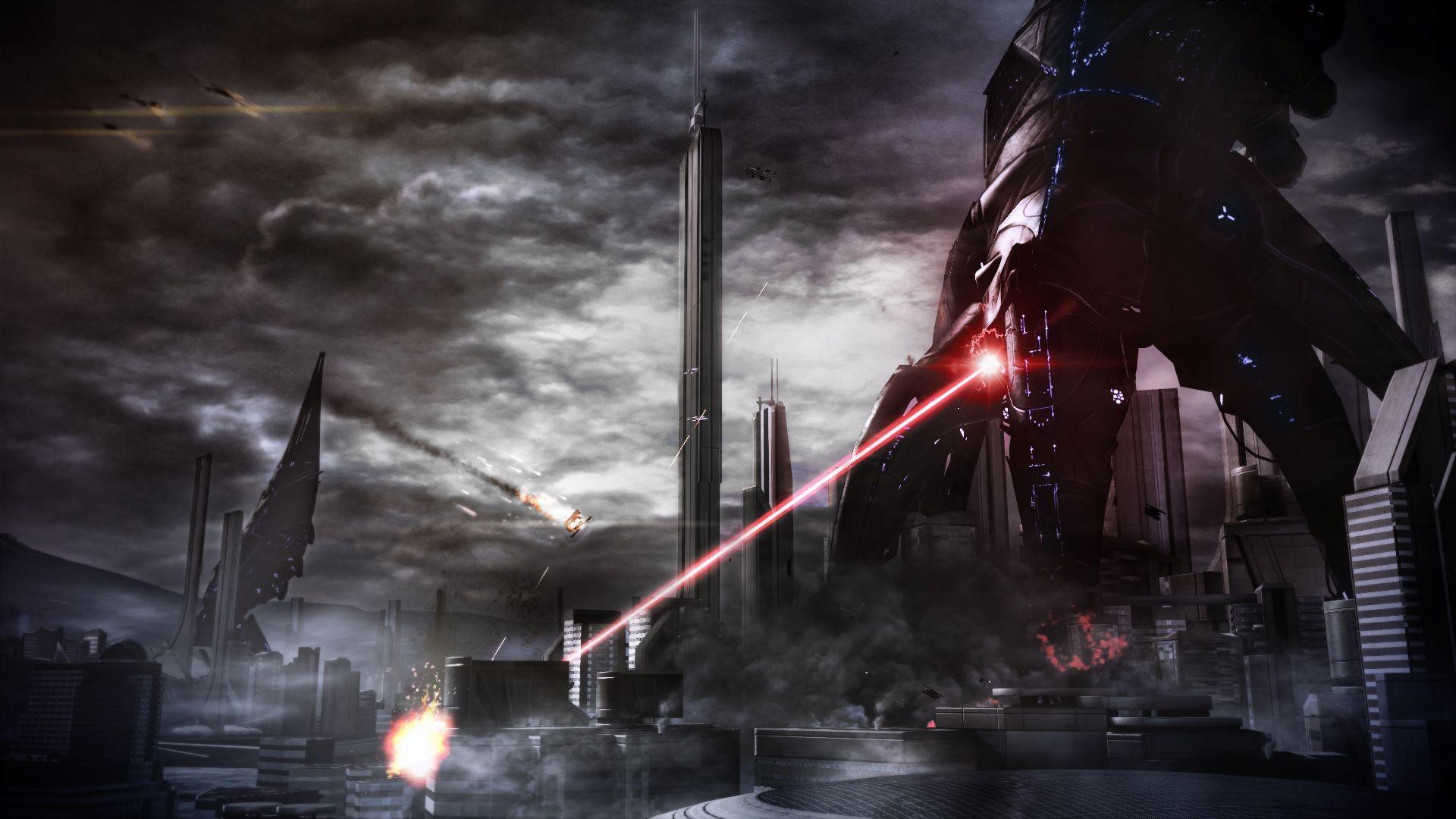 Mass Effect 3 Reaper – wallpaper.