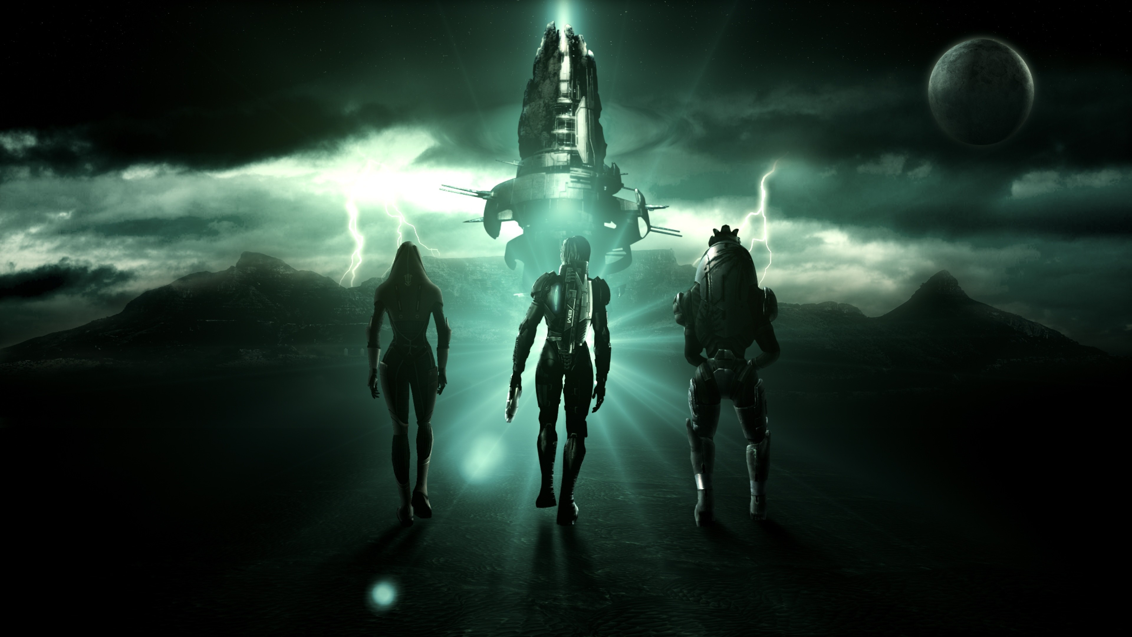 Mass-effect-tali-zorah-characters-spaceship-sky-clouds-
