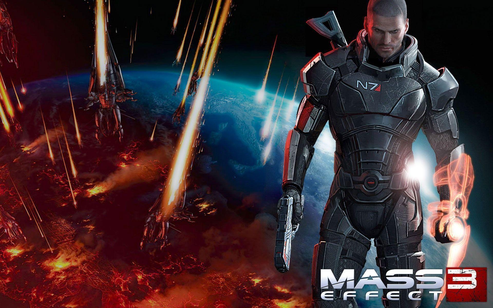 Mass Effect 3 desktop wallpaper