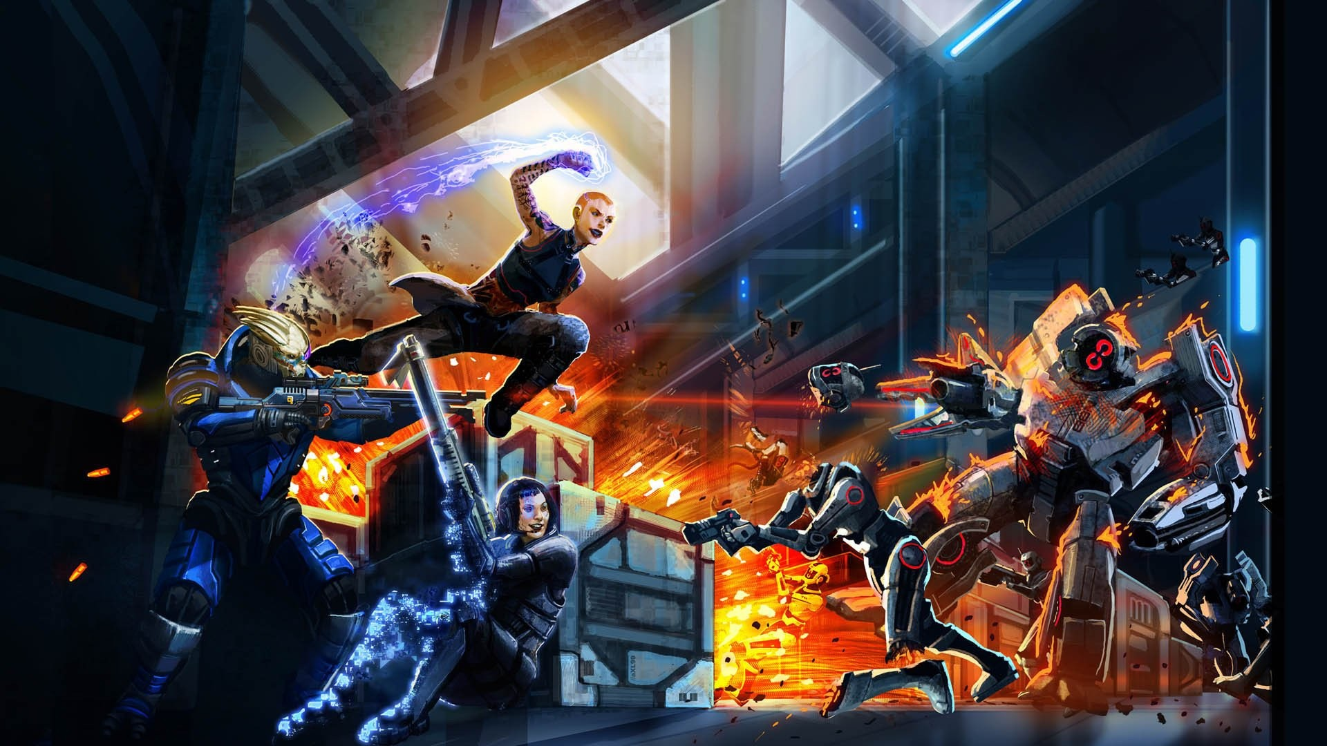 HD Wallpaper   Background ID:309062. Video Game Mass Effect 2