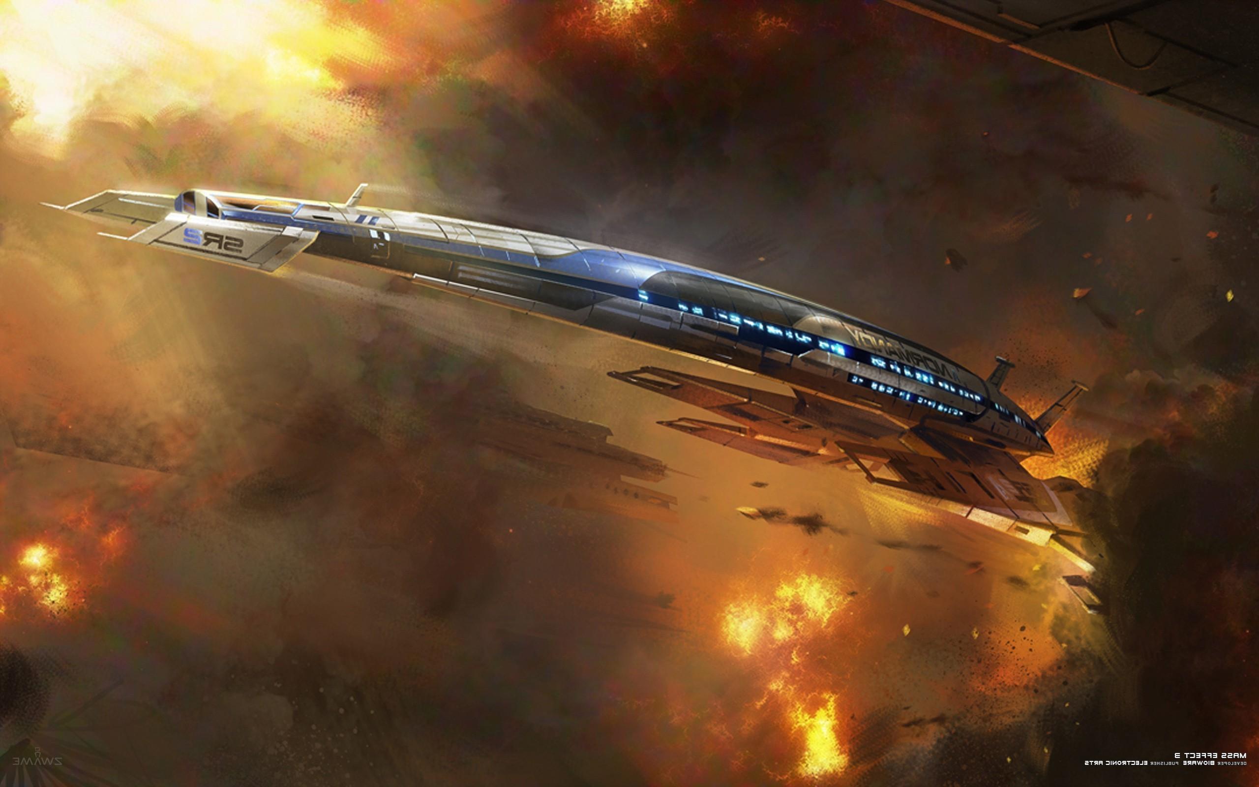 Mass Effect, Mass Effect 3, Normandy SR 2 Wallpapers HD / Desktop and  Mobile Backgrounds