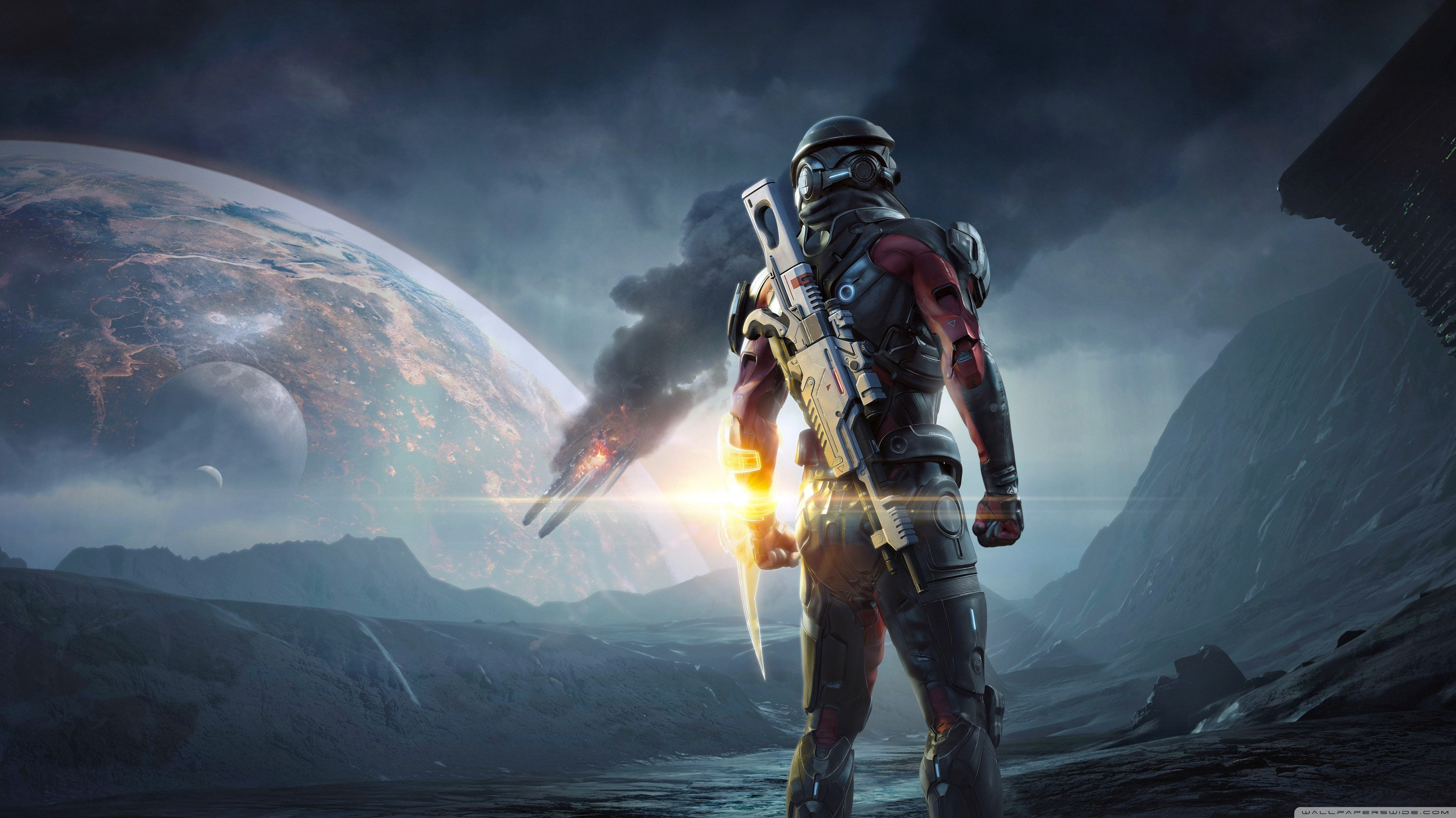 Mass Effect Andromeda 2017 video game HD desktop wallpaper