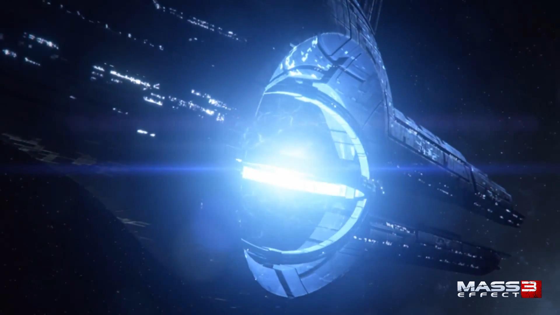 Mass Effect Animated Wallpaper