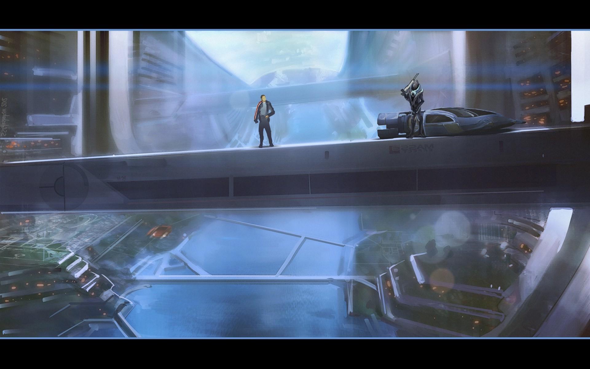 fantasy Art, Mass Effect, Mass Effect 3, Concept Art Wallpapers HD / Desktop  and Mobile Backgrounds