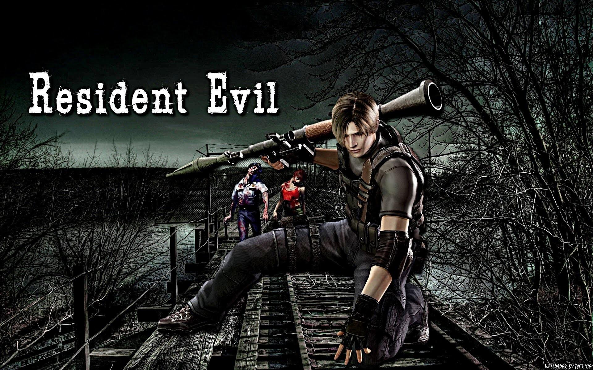 Pacote de Wallpapers (1080p) = Resident Evil #1