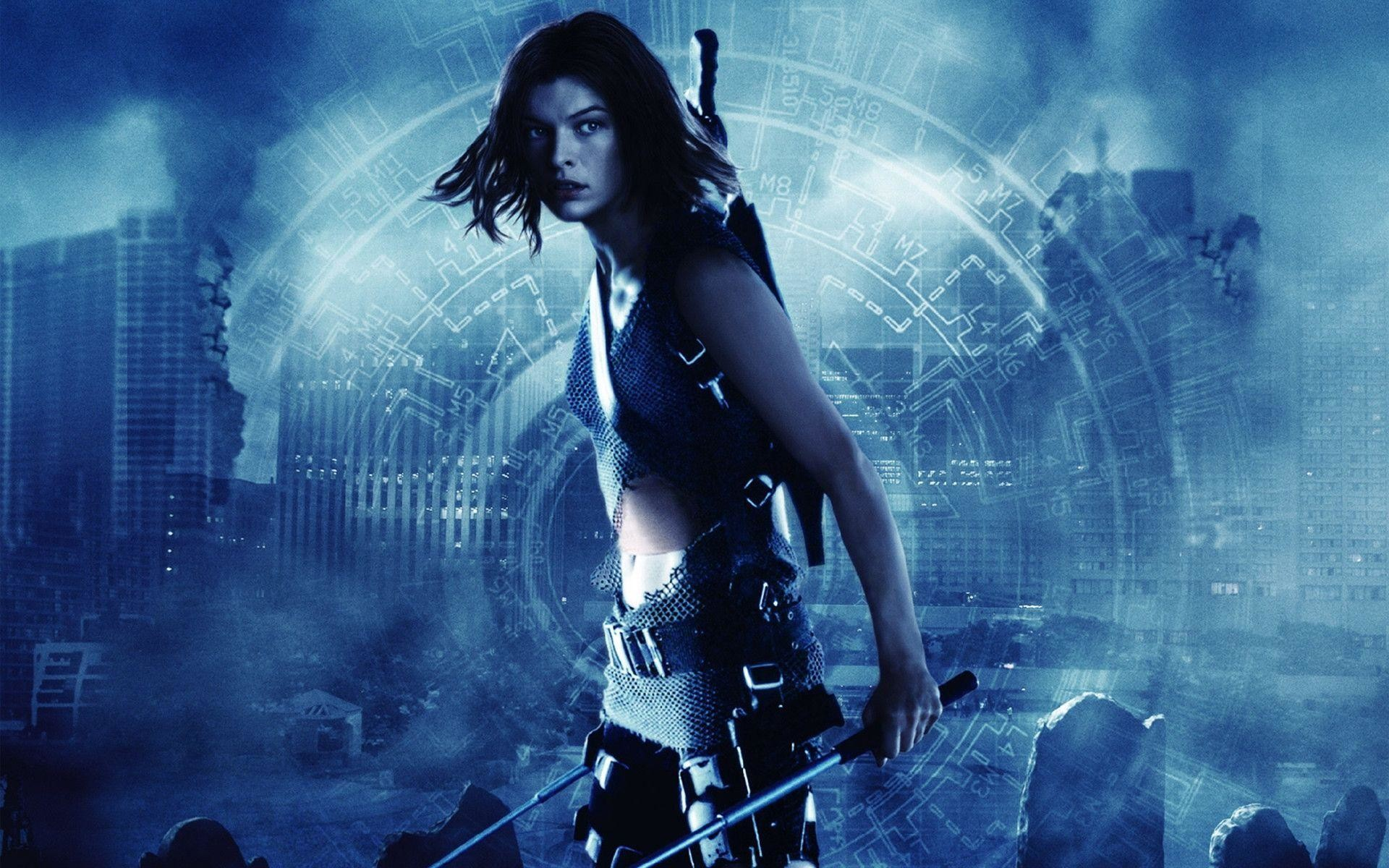 Milla Jovovich in Resident Evil 6 Wallpapers | HD Wallpapers