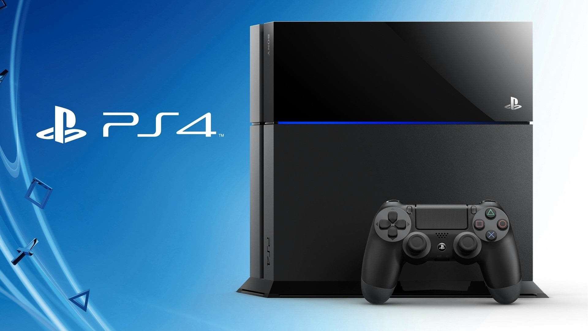 Preview wallpaper playstation 4, console, controller, ps4 1920×1080