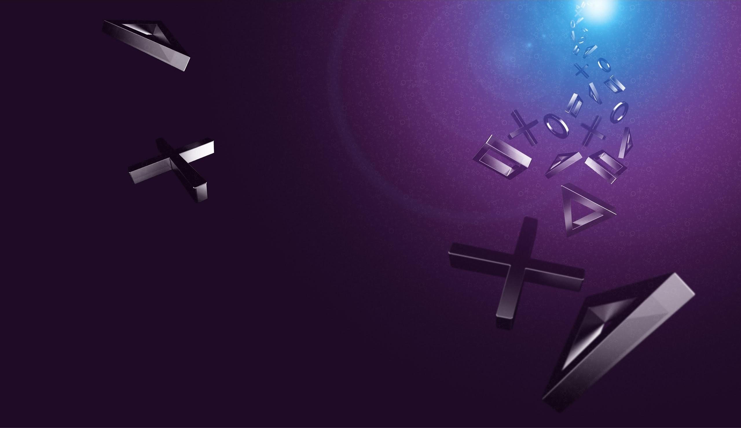 PlayStation Logos Wallpaper