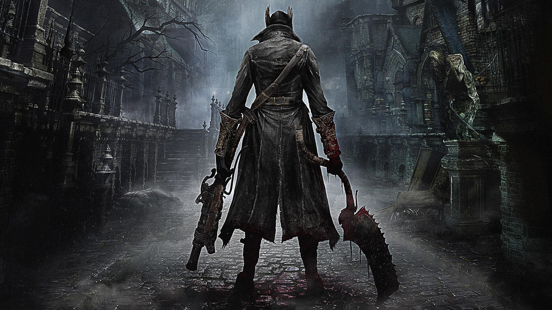 Preview wallpaper bloodborne, from software, playstation 4, ps4, 2015  1920×1080