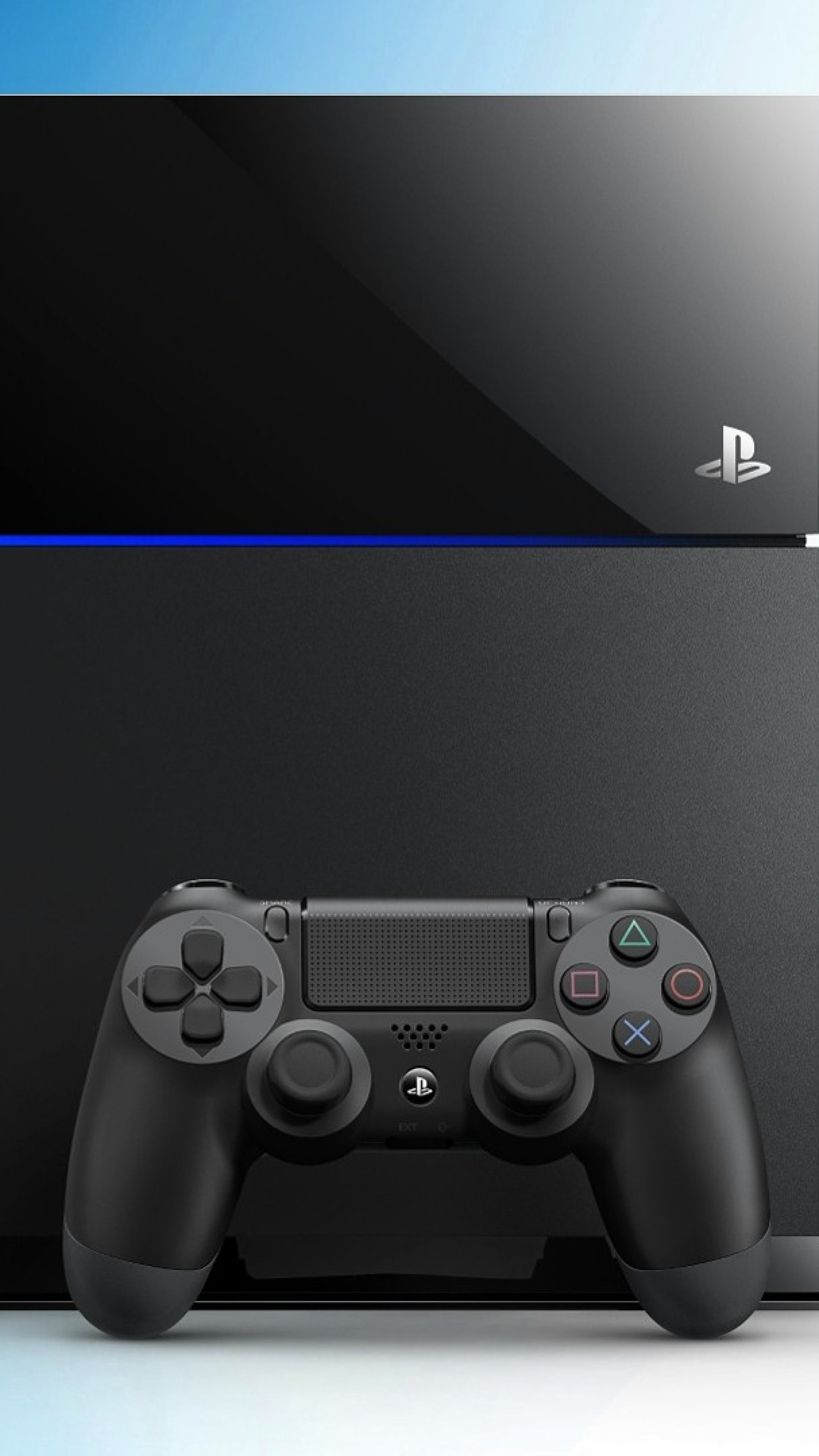 Wallpaper playstation 4, console, controller, ps4