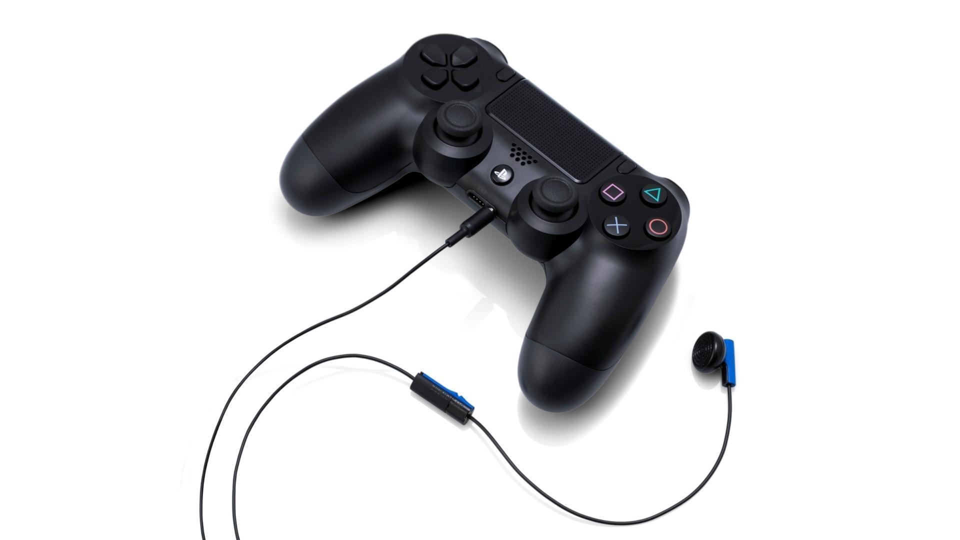 Black Playstation 4 Controller Wallpaper 2946