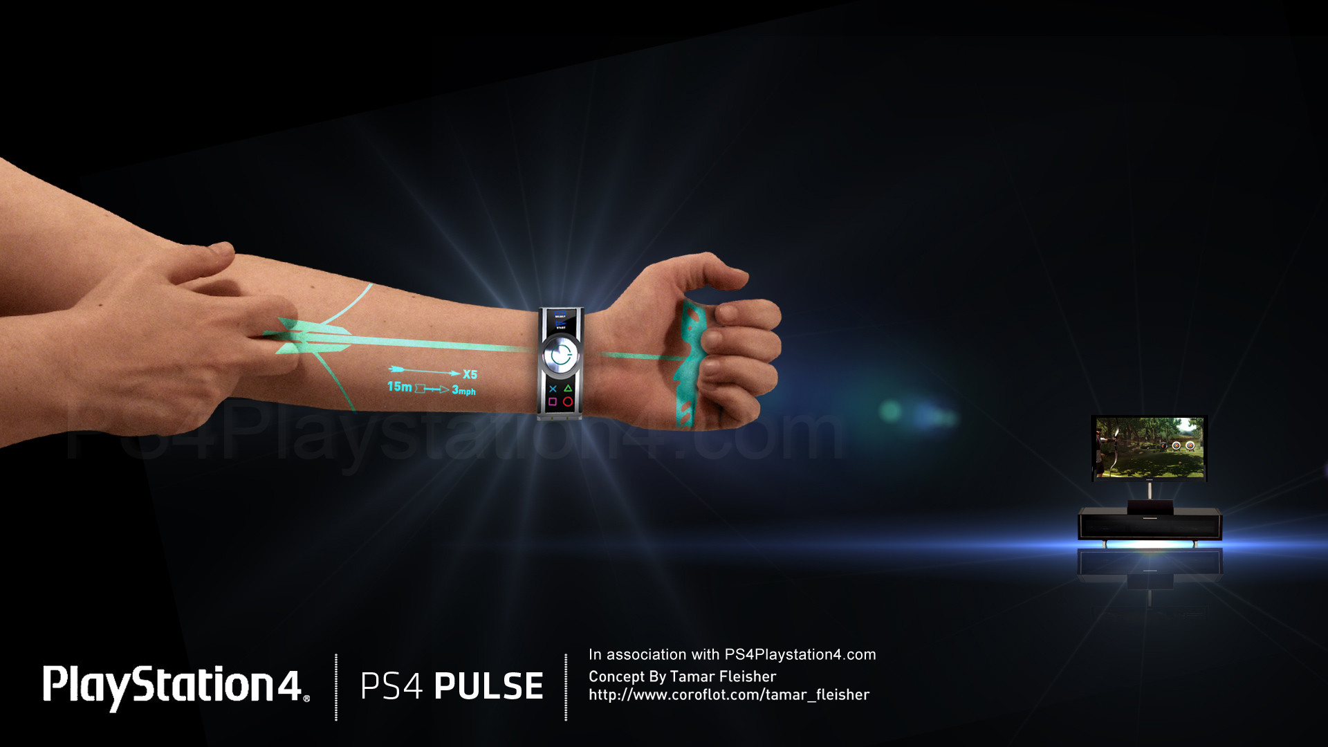 PS4 Controller Pulse – Bow & Arrow – Download …