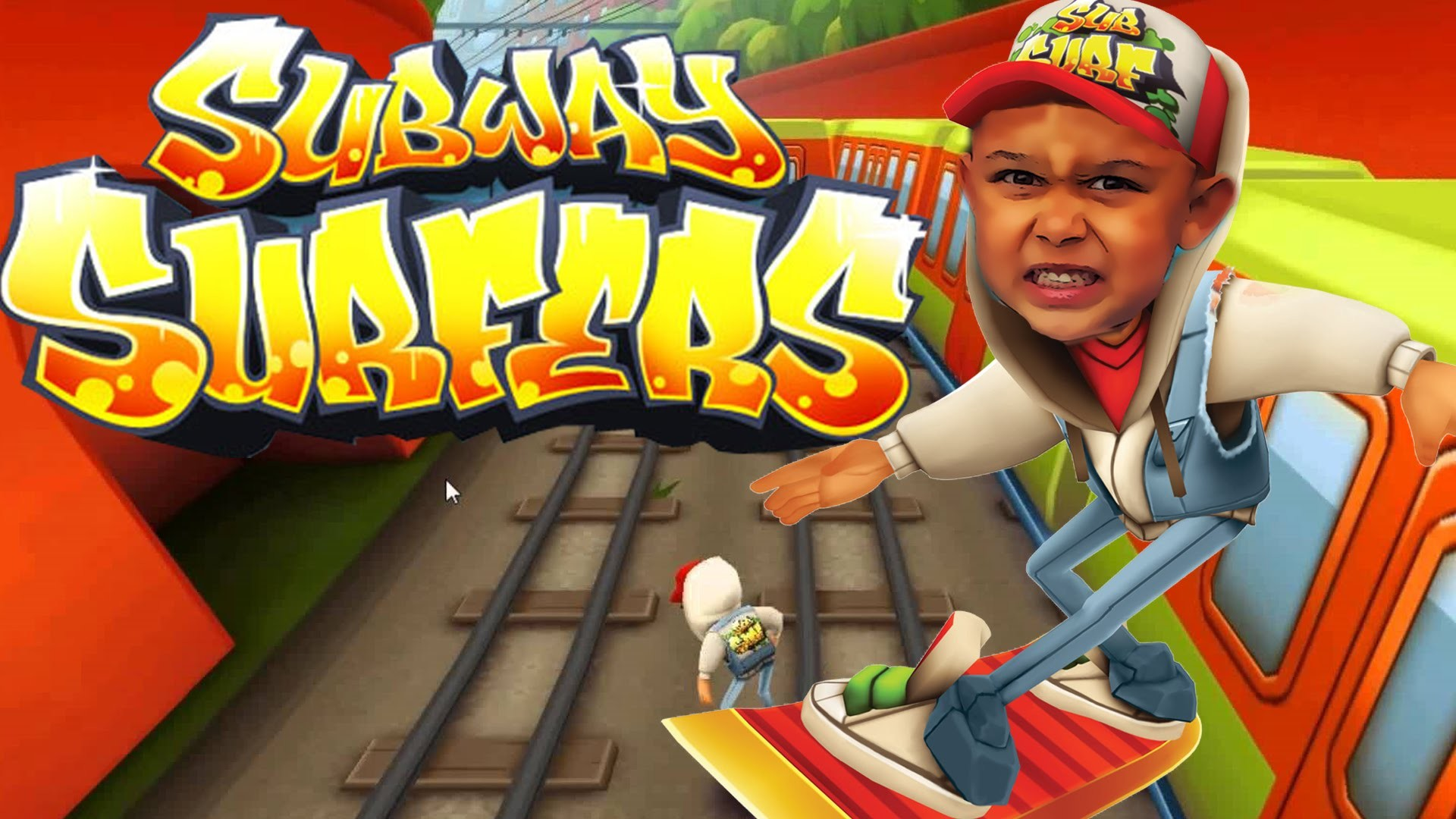 Subway Surfers (iOS/Android) MINI ME shows us how to surf in the subway  Lets play Gameplay – YouTube