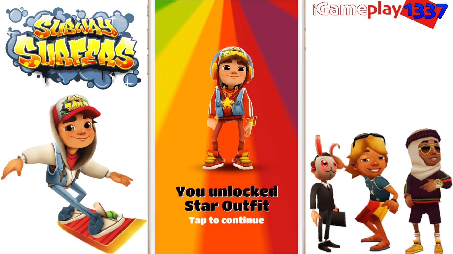 Subway Surfers – JAKE STAR OUTFIT Character – Review / Gameplay – YouTube
