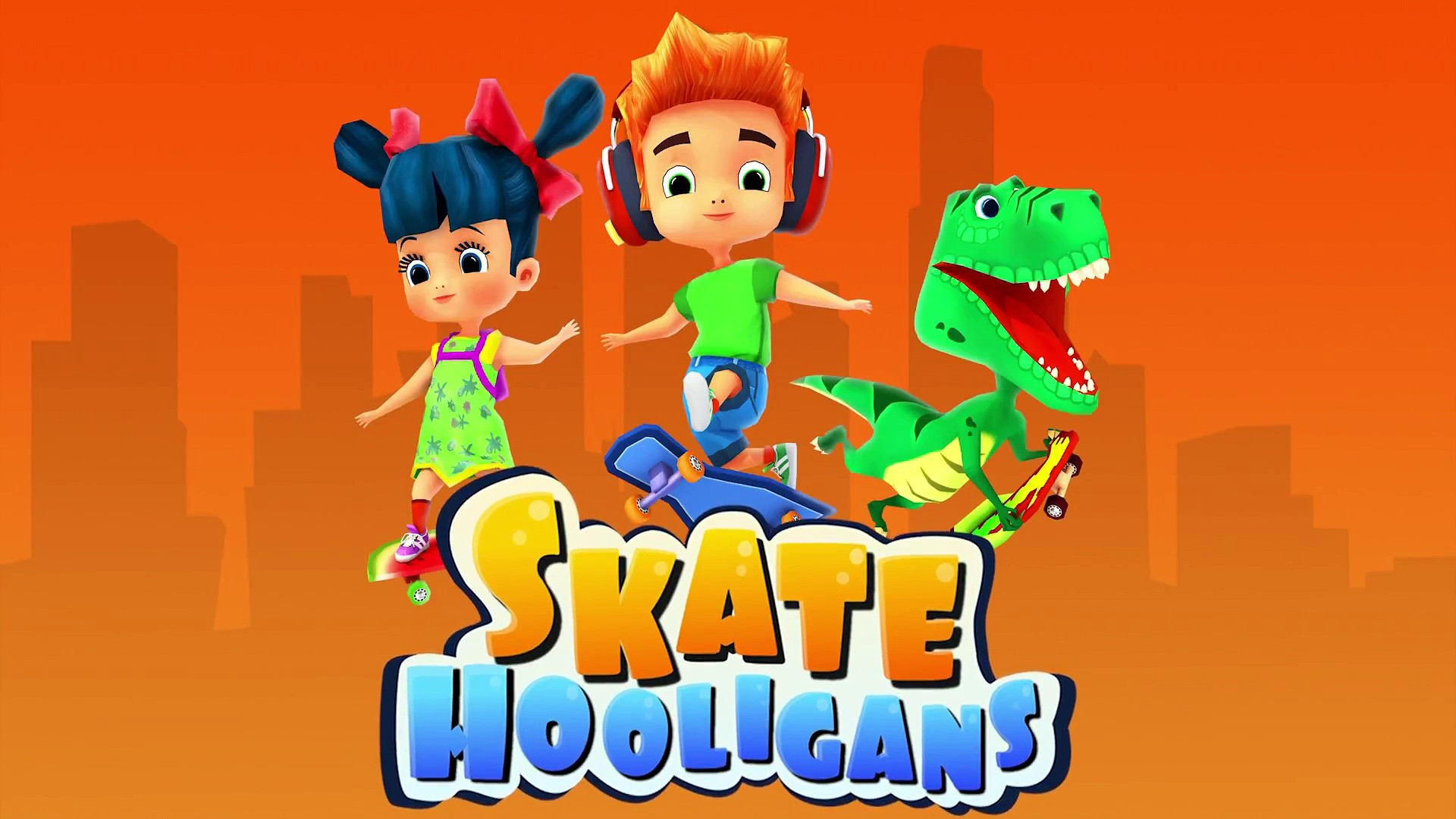 Skate Hooligans: A new look of subway surfers on web