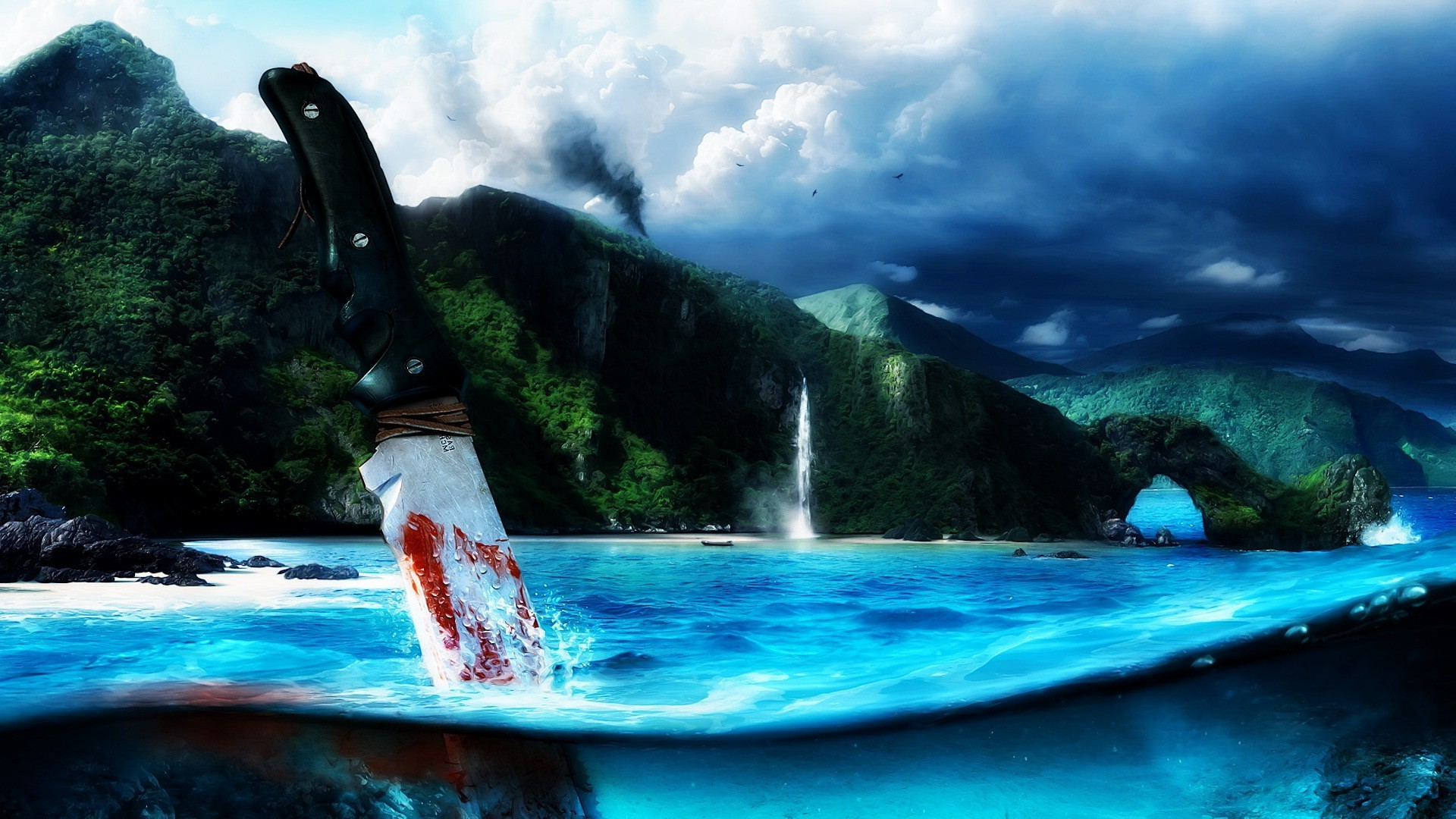 artwork, Blood, Far Cry 3 Wallpapers HD / Desktop and Mobile Backgrounds