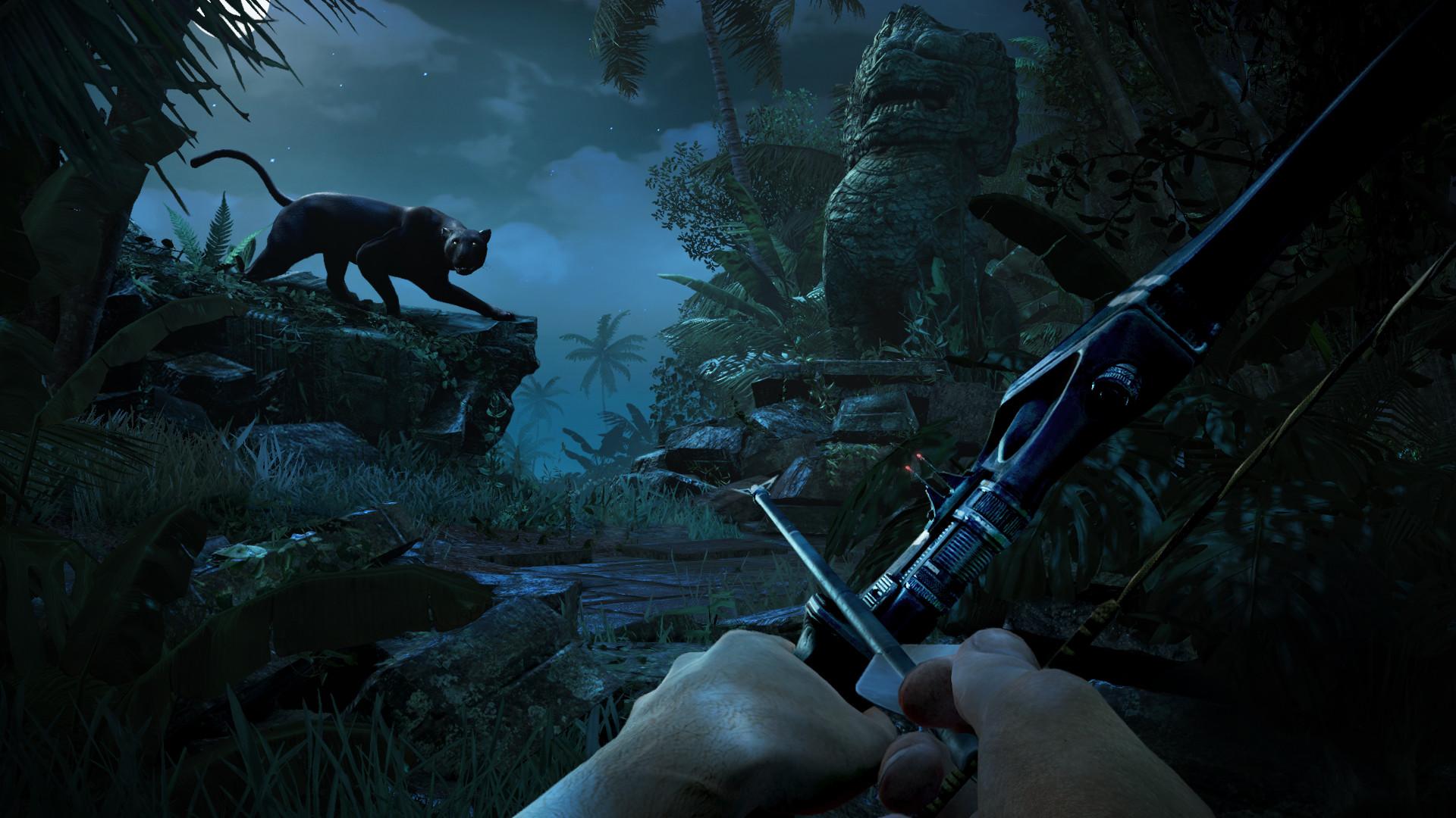 Far Cry 3. Hunting Panther Screenshot