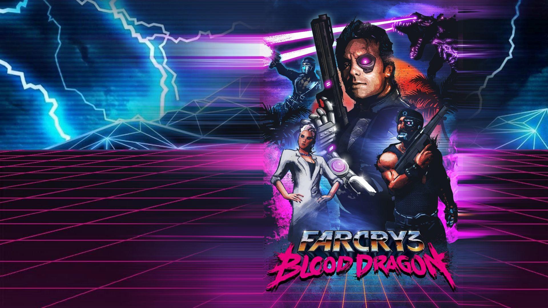 Video Game – Far Cry 3: Blood Dragon Bakgrund