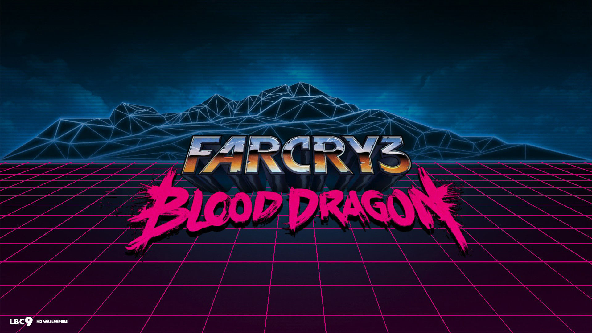 far cry 3 blood dragon logo wallpaper