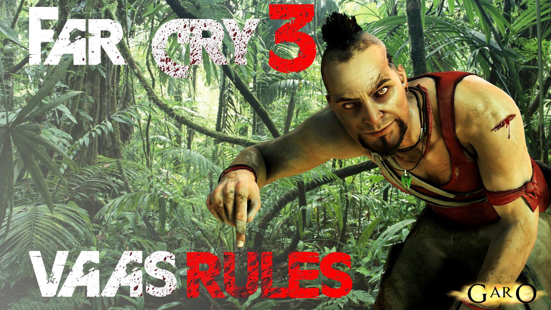 … Far Cry 3 Wallpaper | Vaas rules by GaroArts