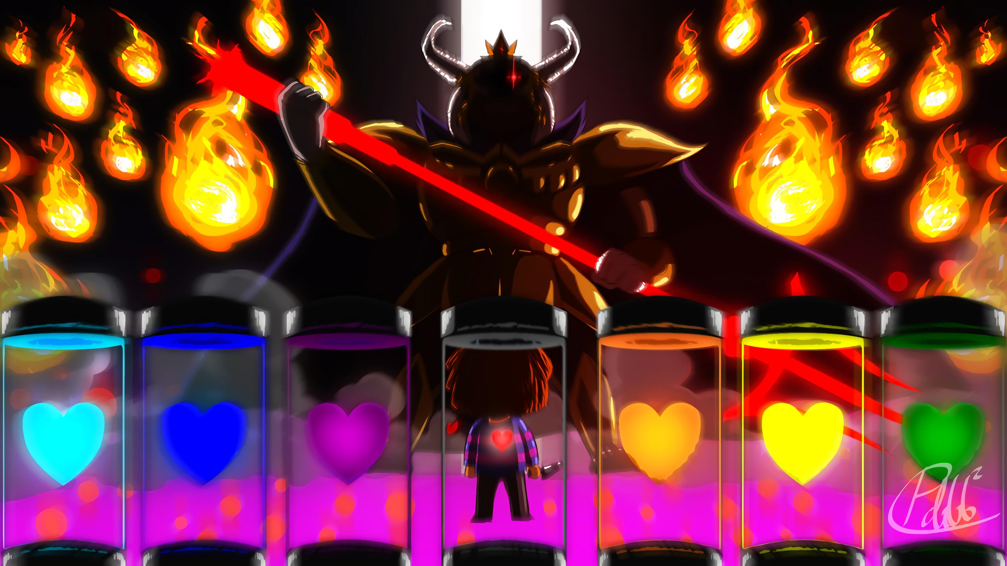 Video Game – Undertale Frisk (Undertale) Asgore (Undertale) Wallpaper