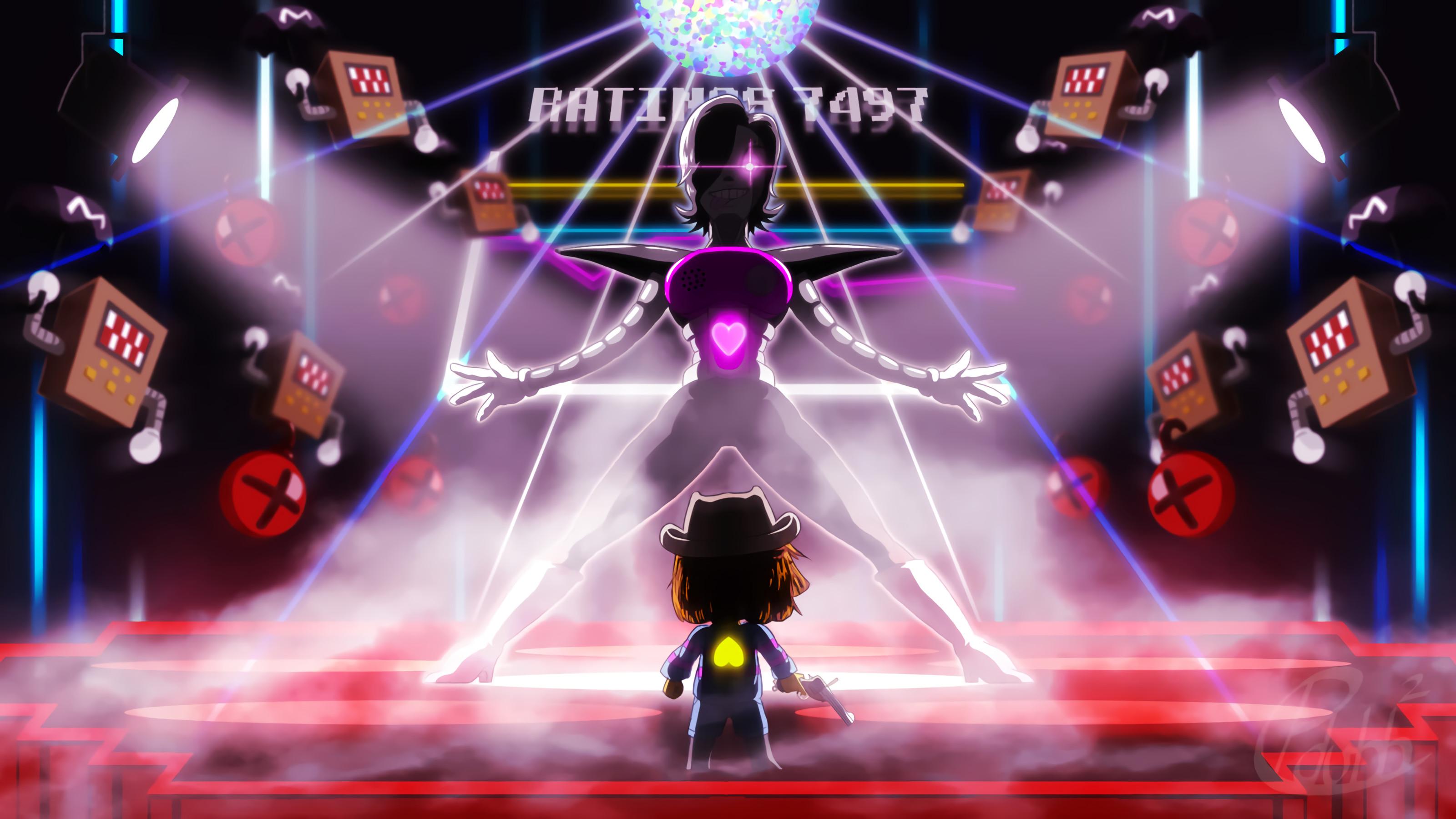 Video Game – Undertale Frisk (Undertale) Mettaton (Undertale) Mettaton EX ( Undertale