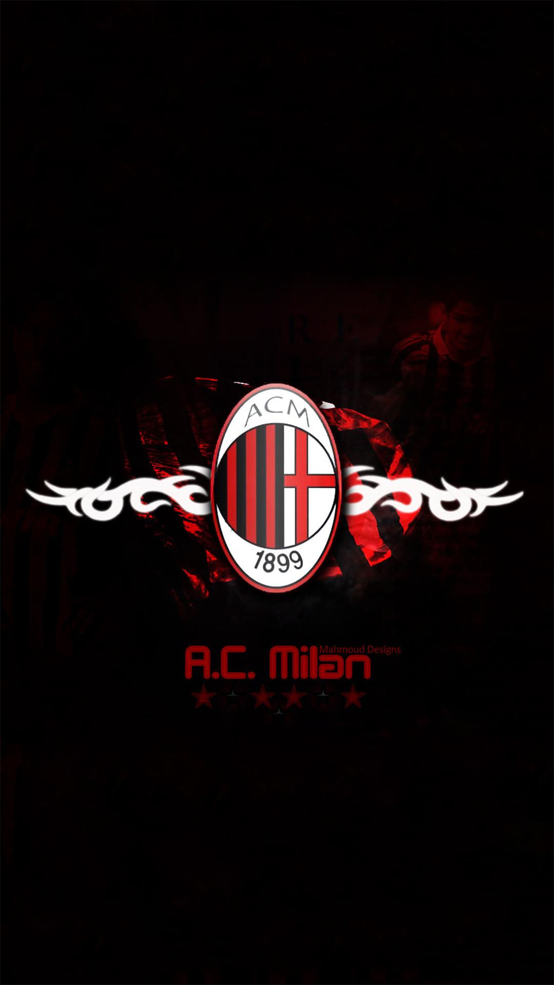 … AC Milan Wallpaper iphone 6S by lirking20