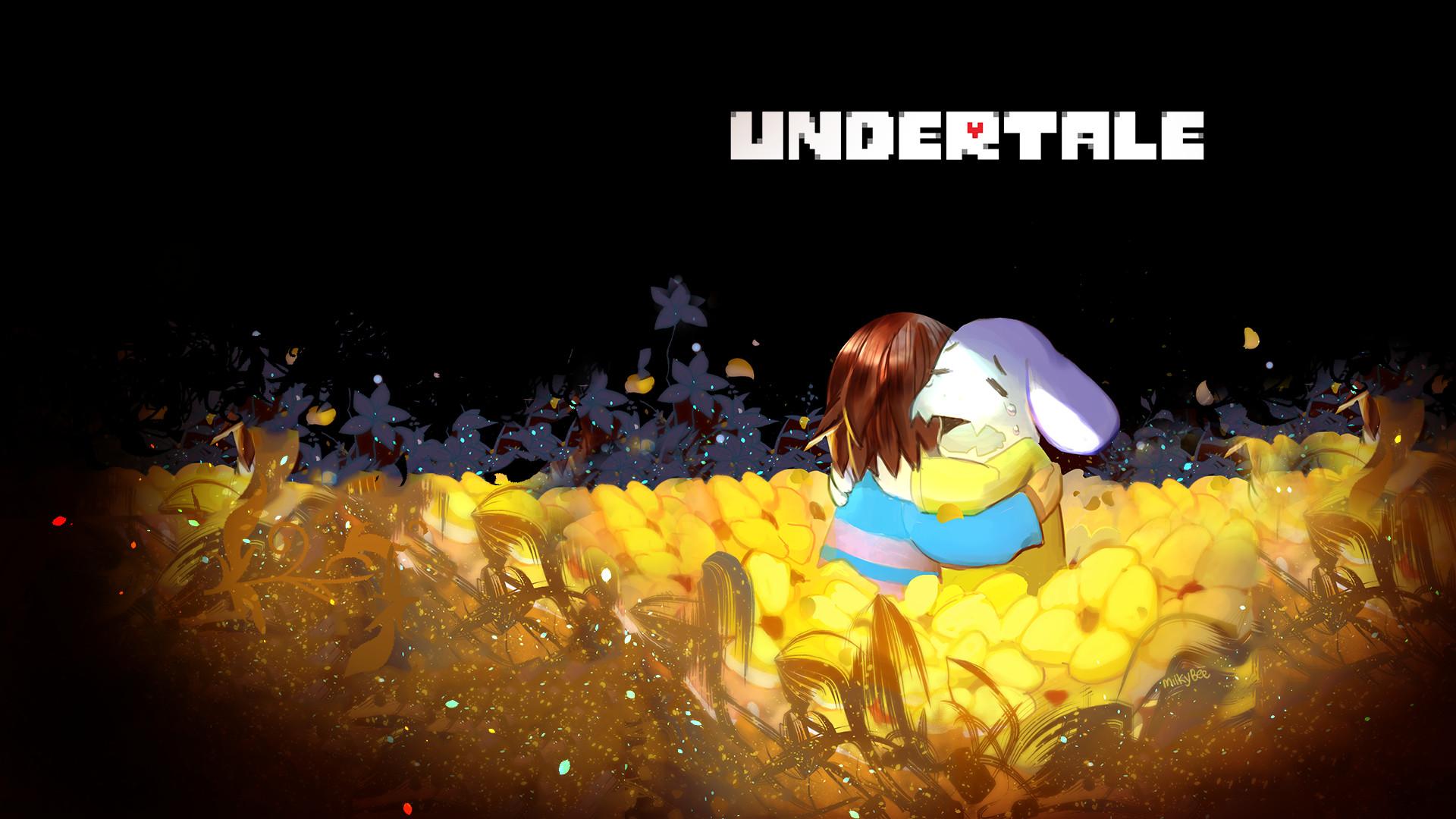 Video Game – Undertale Asriel (Undertale) Frisk (Undertale) Wallpaper