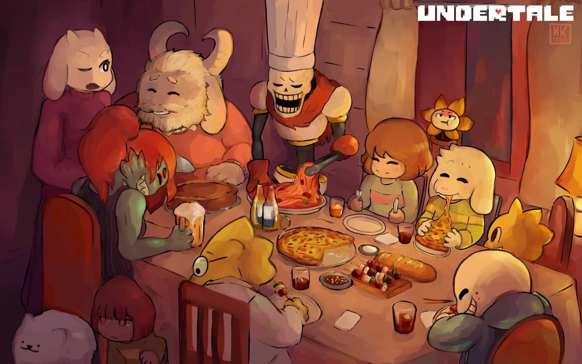 QWH688: Cute Undertale Wallpaper, Awesome Undertale Backgrounds .