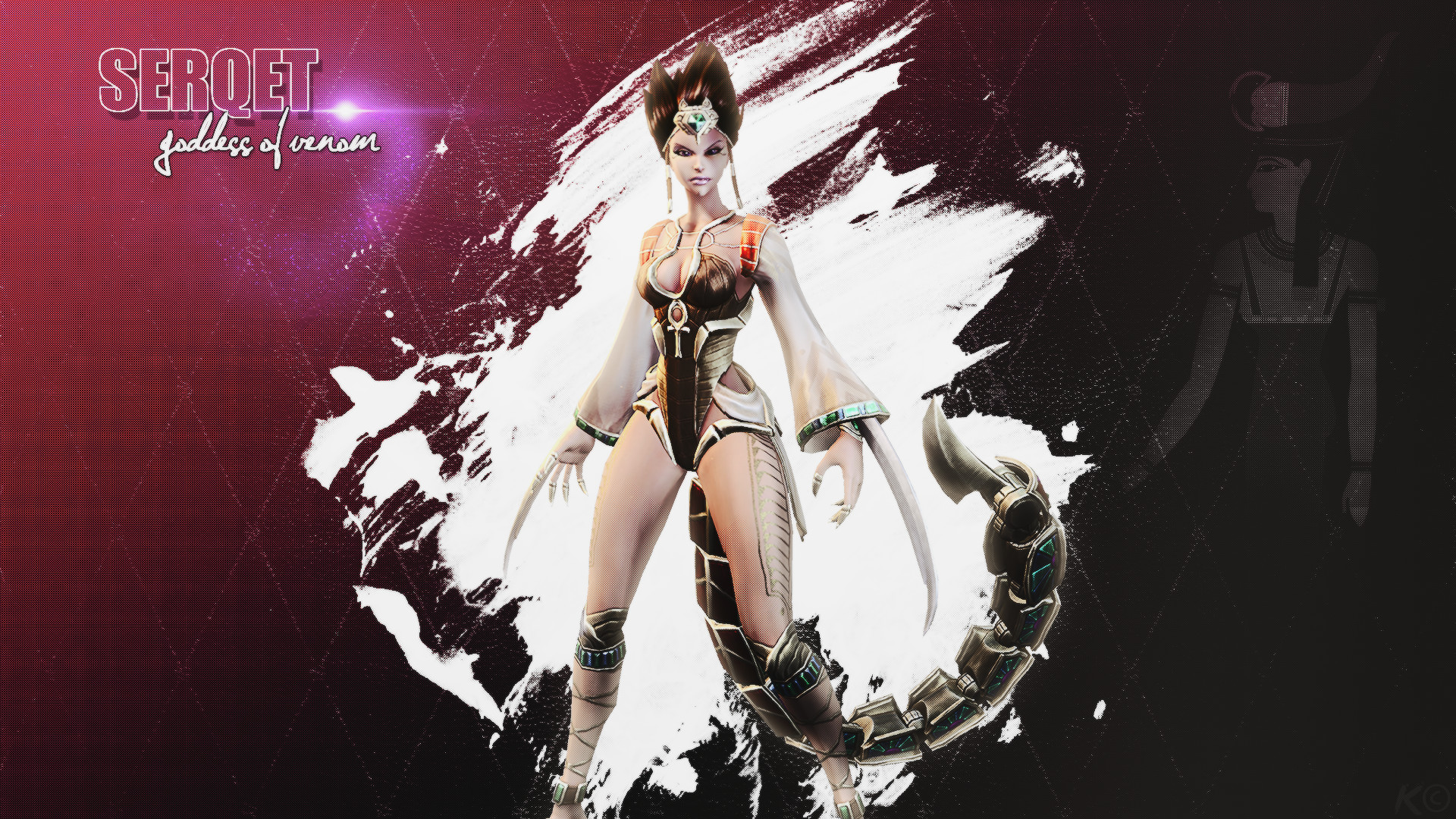 Serqet SMITE Wallpaper by DustyMcBacon Serqet SMITE Wallpaper by  DustyMcBacon