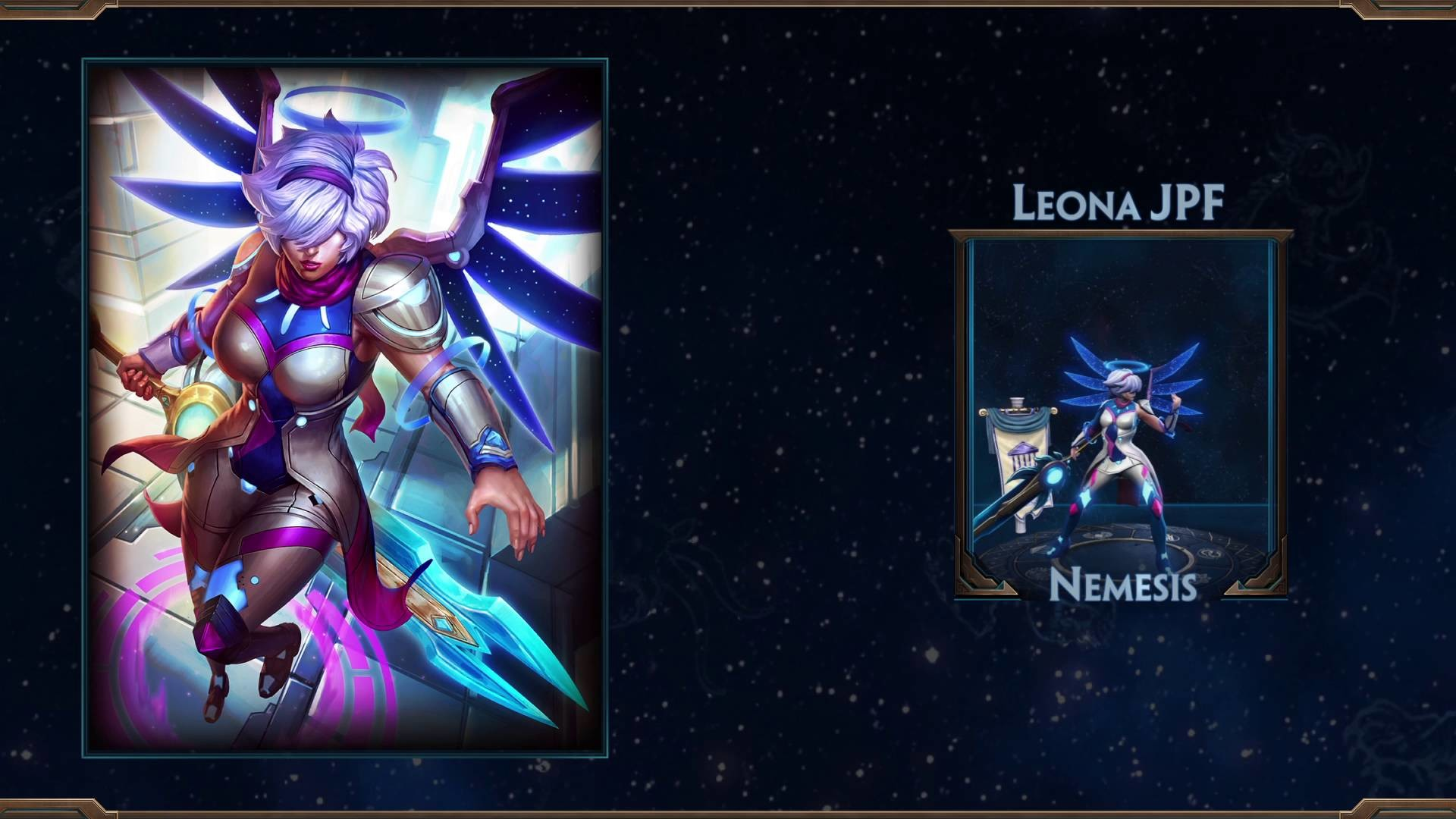 SMITE: Nemesis Leona Skin Reveal