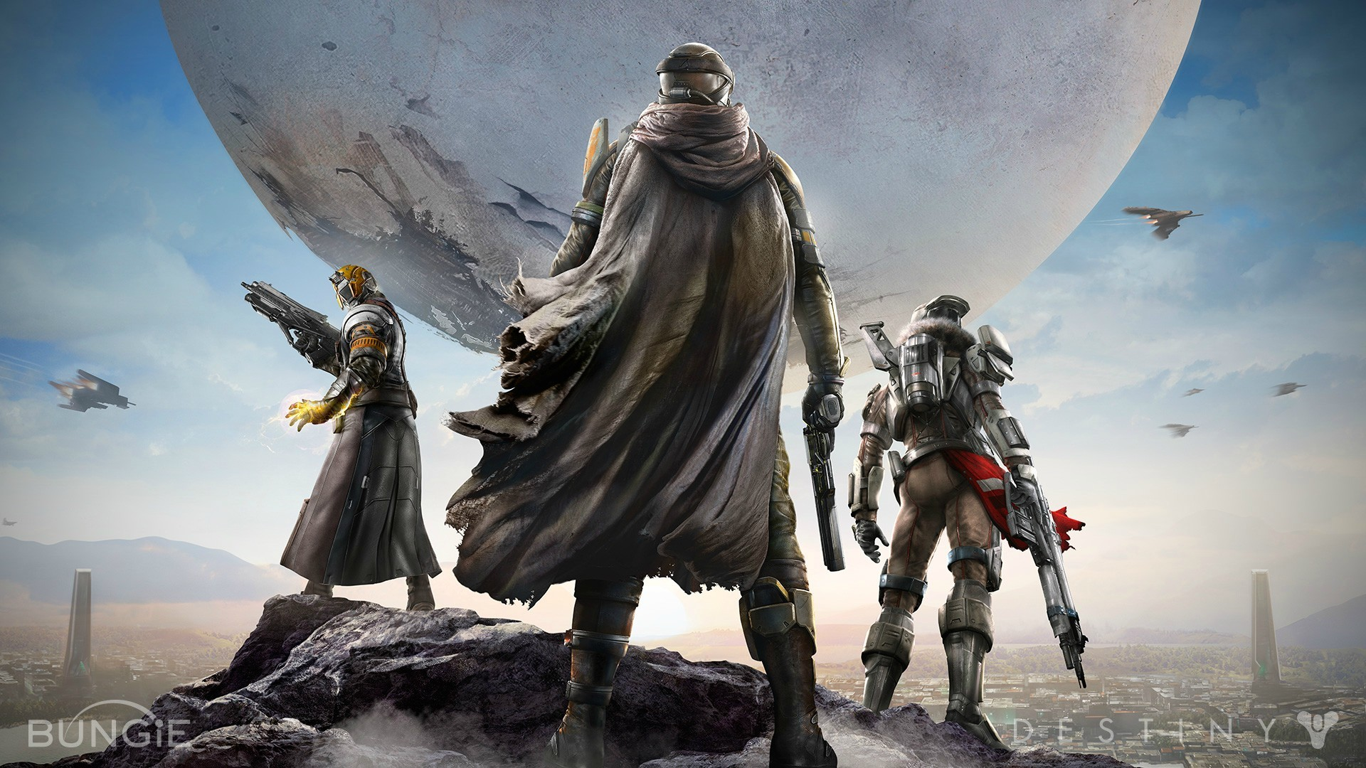 Games Movies Music Anime: Destiny – 4 New 1080p Wallpapers