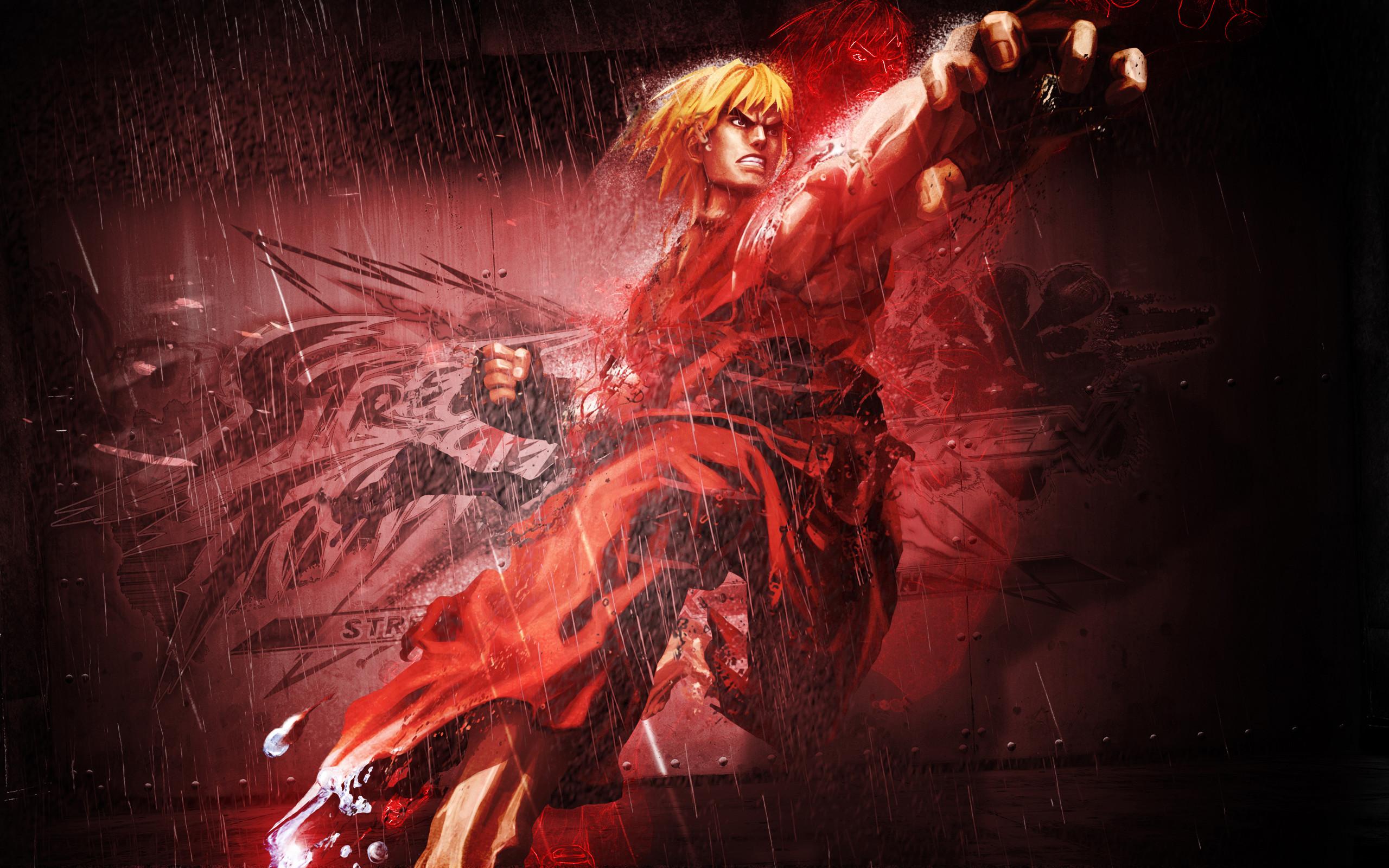 Ken in Street Fighter