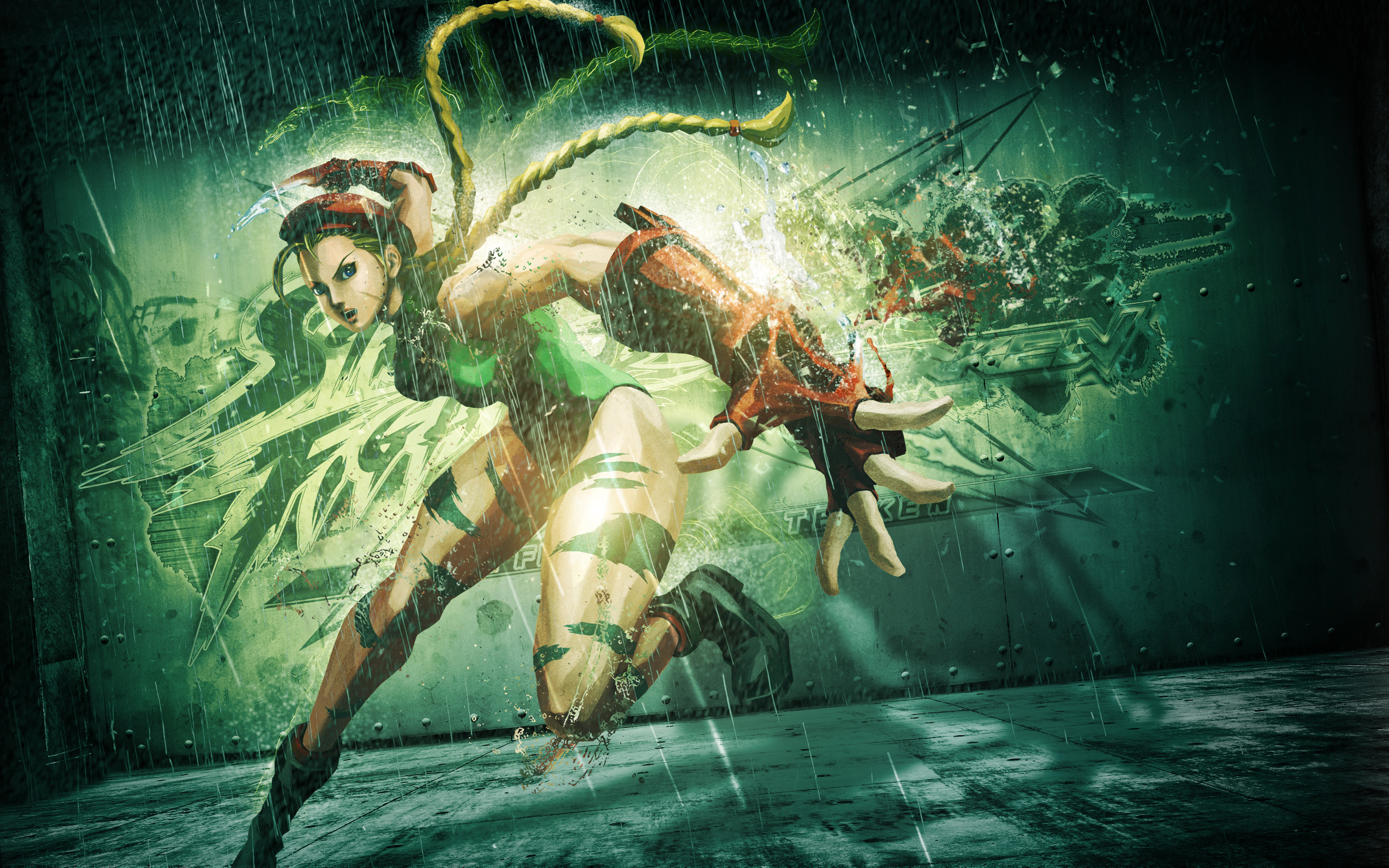 Cammy in The Street Fighter