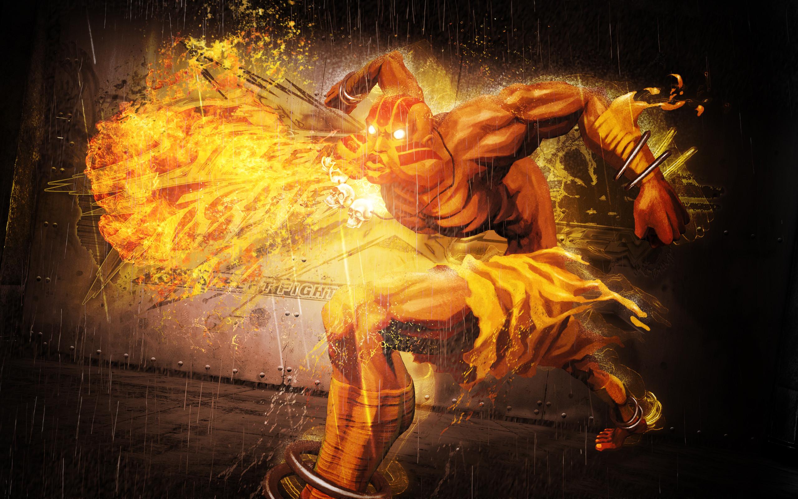 Dhalsim in Street Fighter