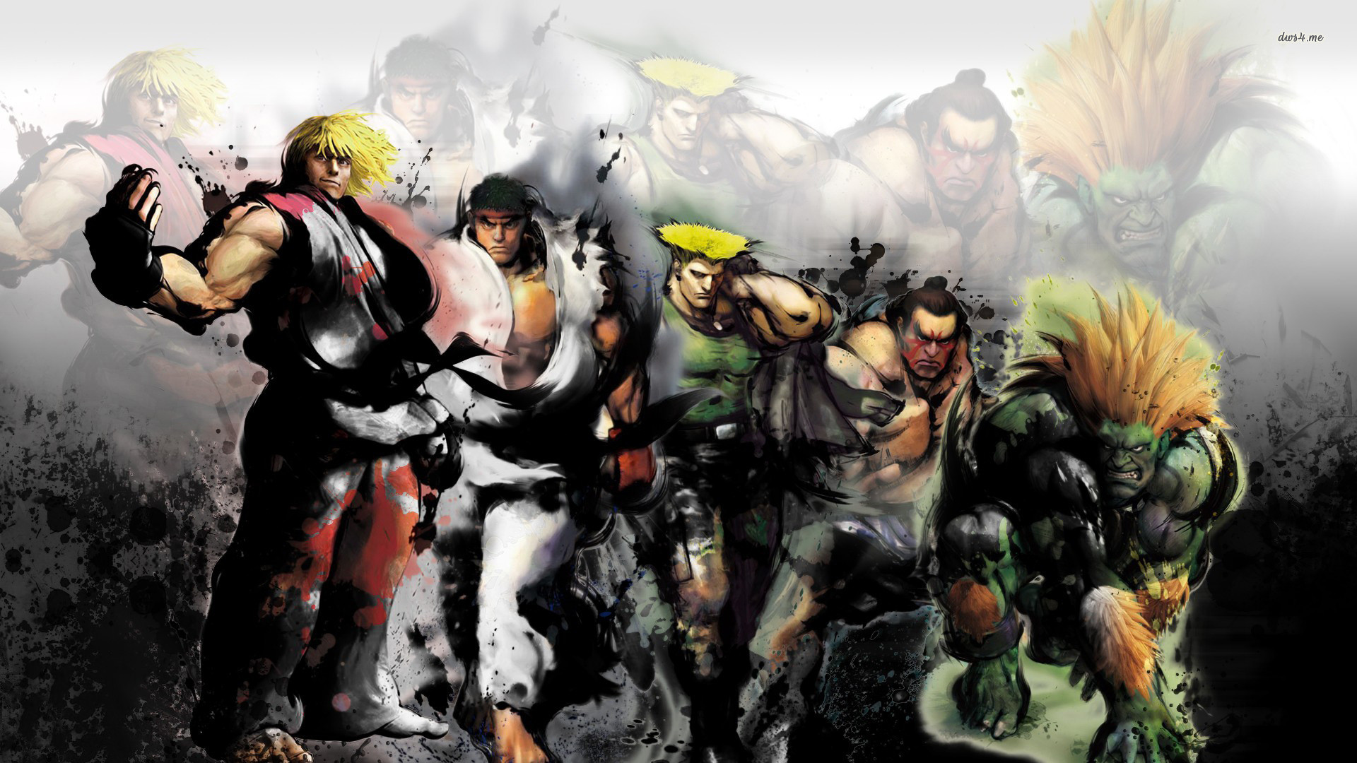 Street Fighter IV wallpaper – Game wallpapers – #13129