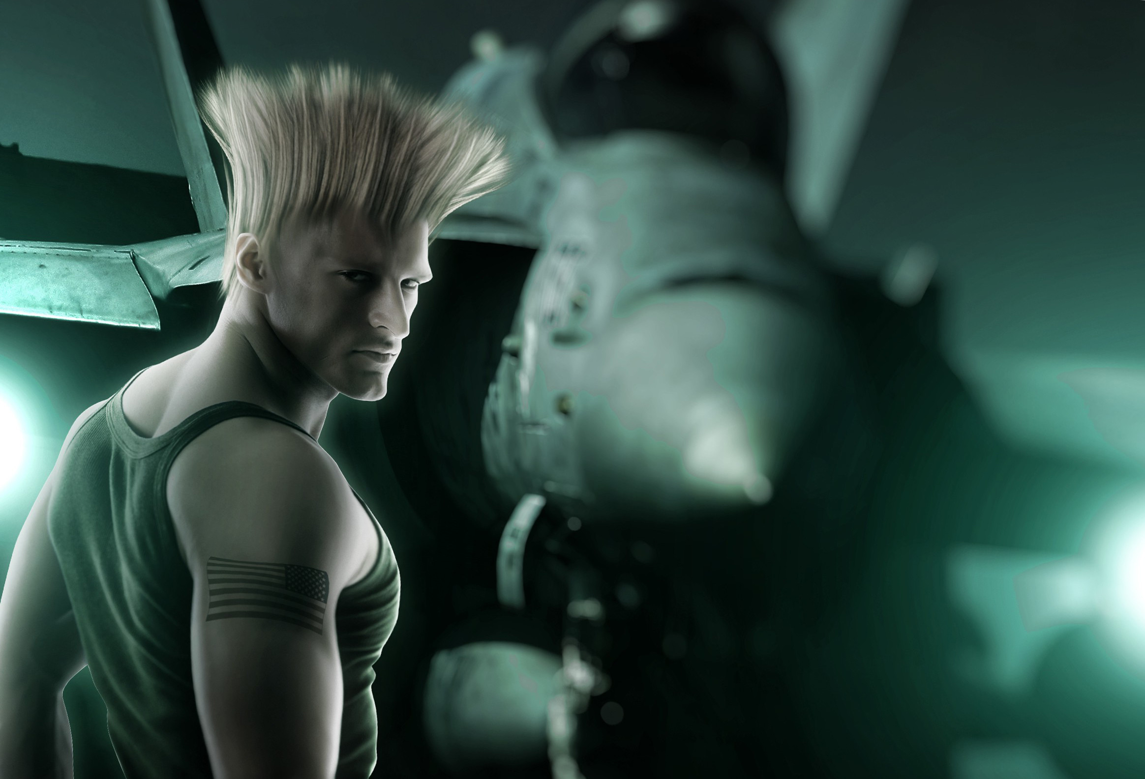GUILE IN STREET FIGHTER HD Wide Wallpaper for Widescreen (57 Wallpapers)