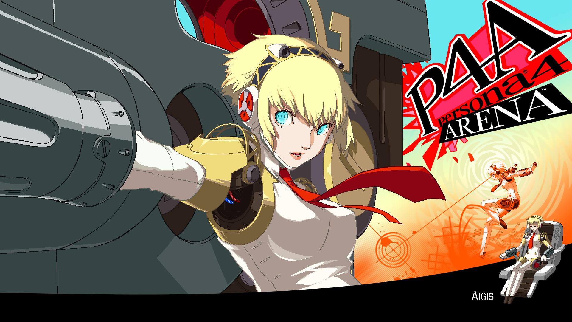 … Persona 4 Arena – Aigis 1080p Wallpaper by ZuperKim
