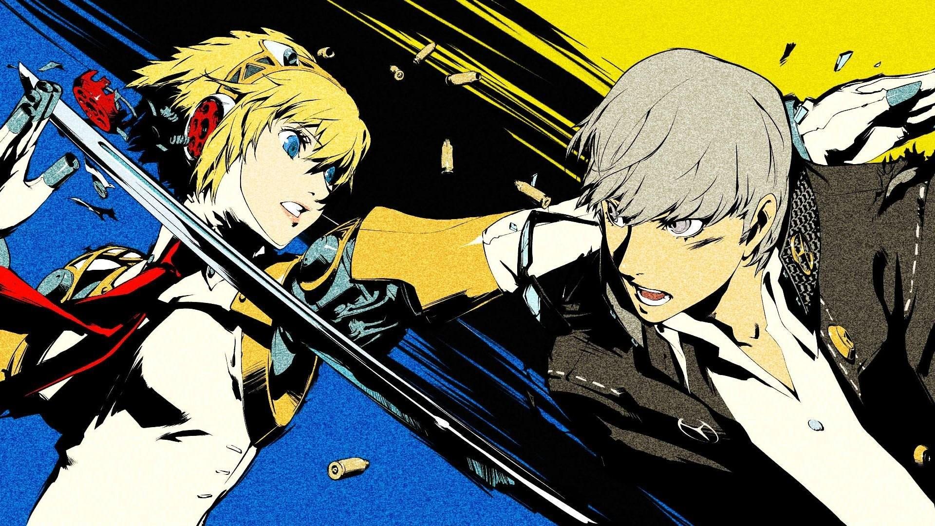 Narukami Yuu And Aigis – Persona 4