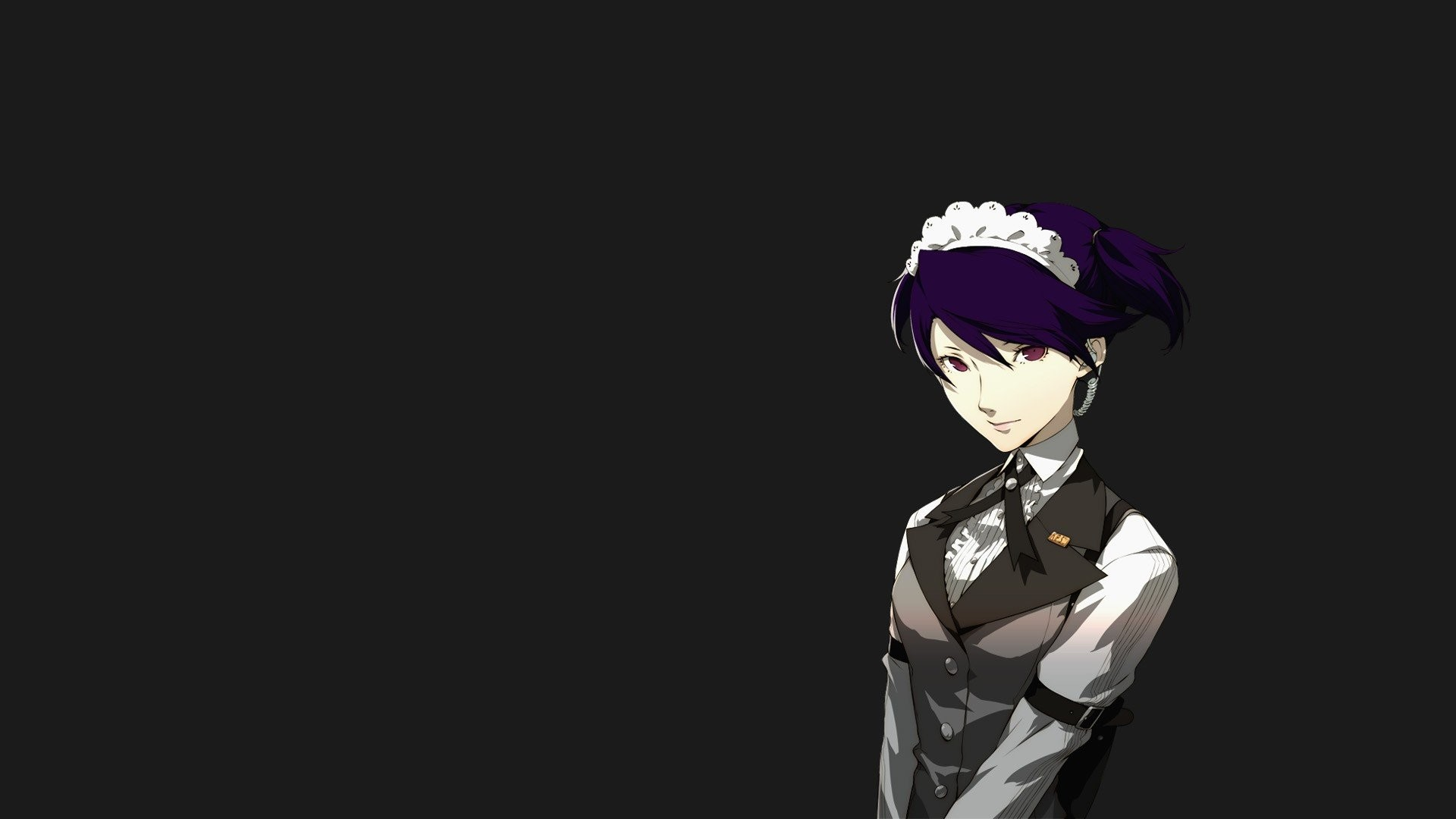 Persona Series 4 Arena Ultimax Kikuno Saikawa Simple Background …