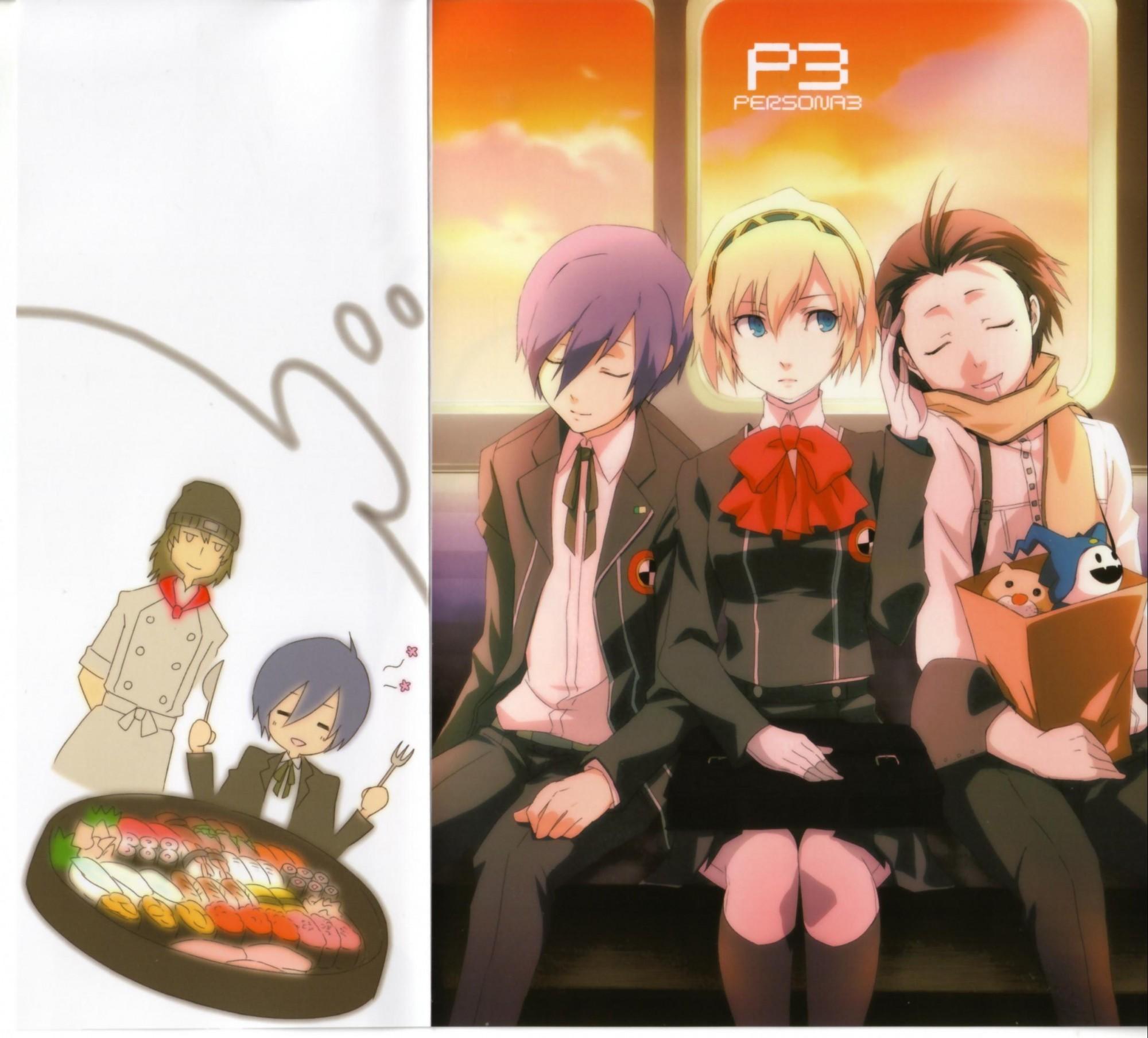 Tags: Shin Megami Tensei: PERSONA 3, Aegis, Jack Frost (Shin Megami