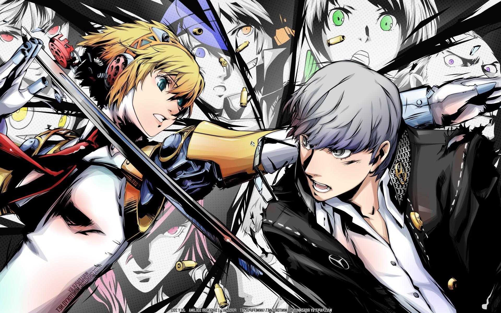 Persona Series, Persona 4, Video Games, Aigis, Narukami Yuu Wallpapers HD /  Desktop and Mobile Backgrounds